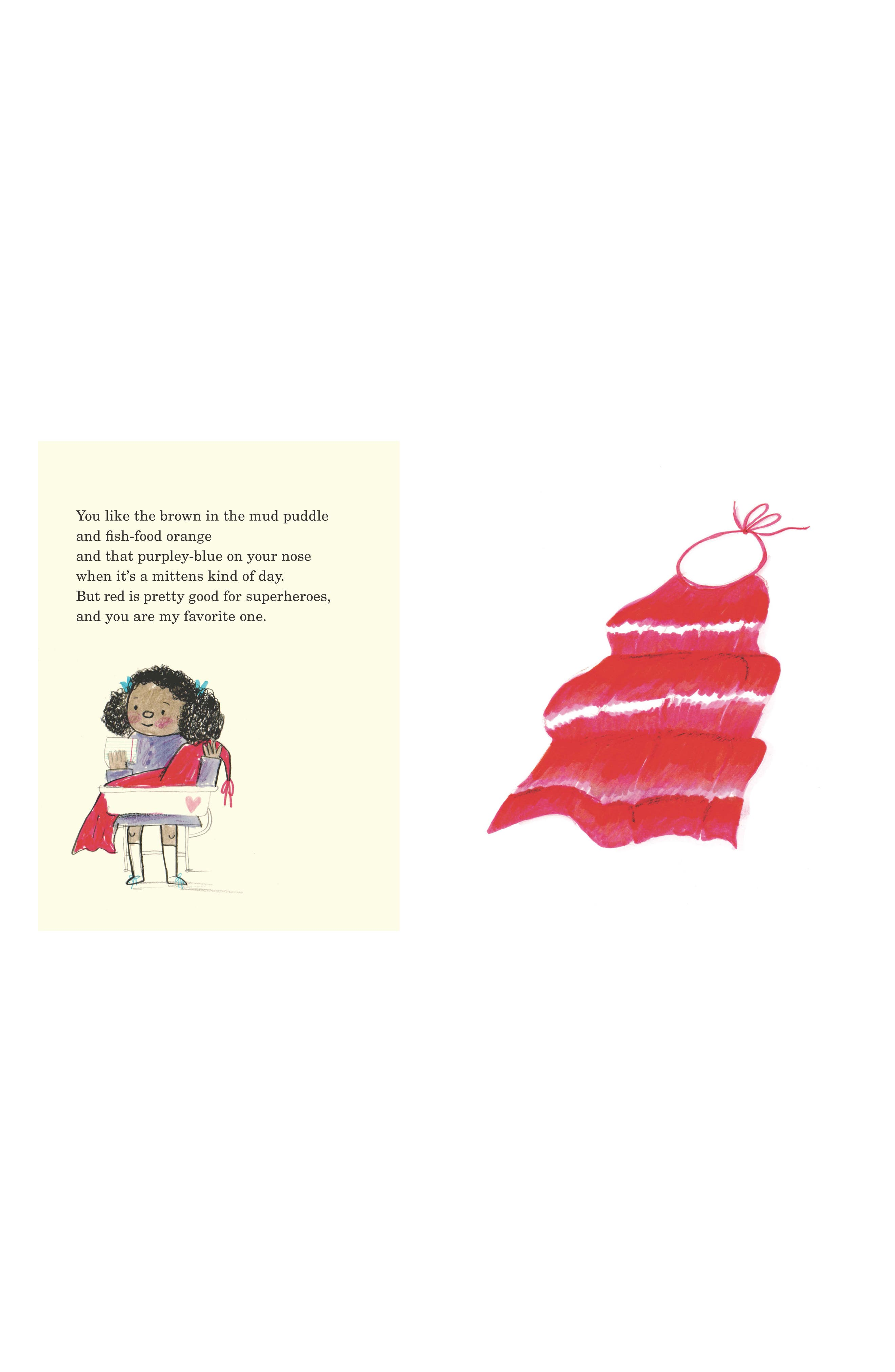 'This Is Not A Valentine' Book,                             Alternate thumbnail 9, color,                             Red