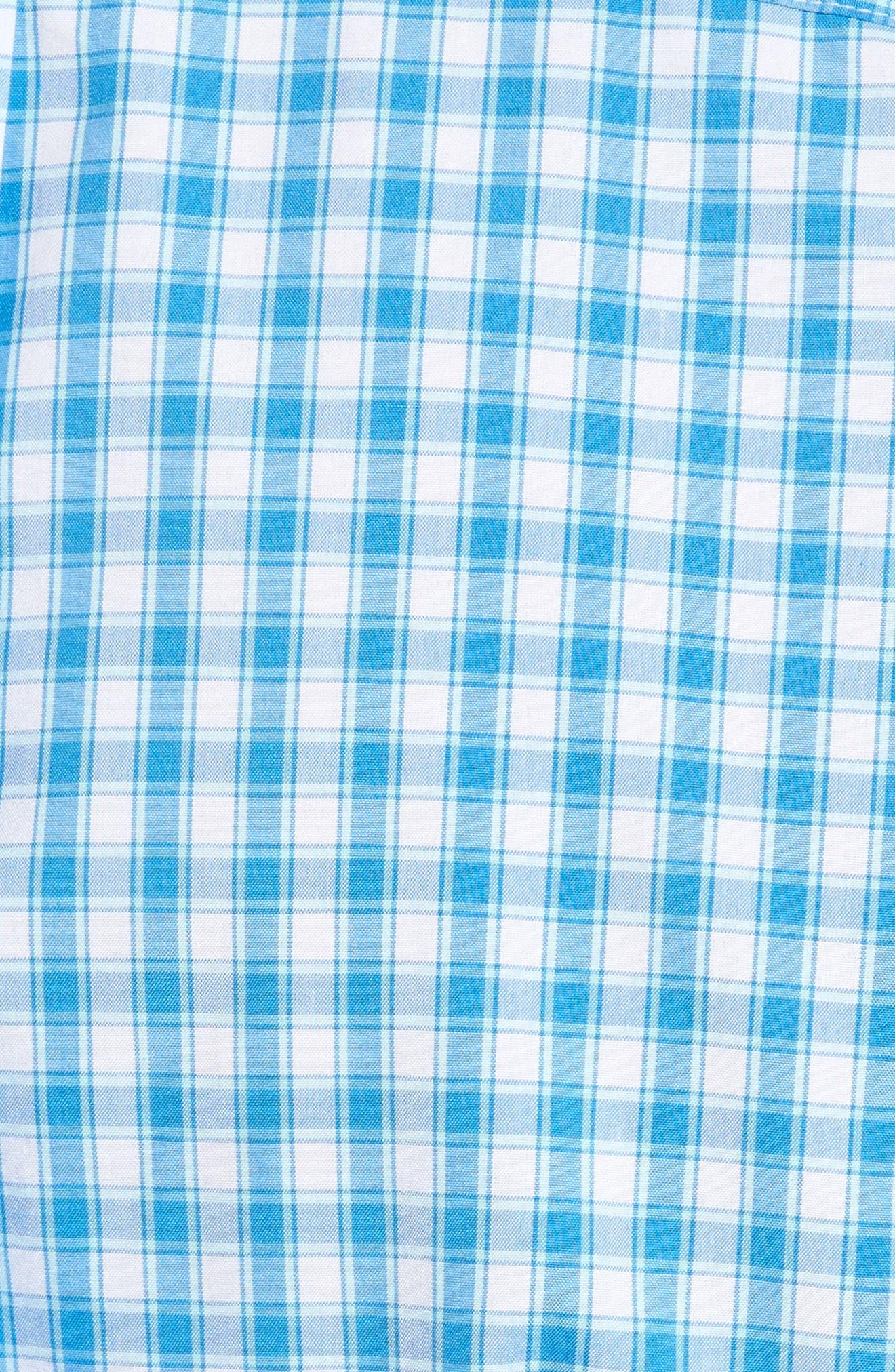 Alternate Image 5  - vineyard vines Tucker Classic Fit Check Sport Shirt
