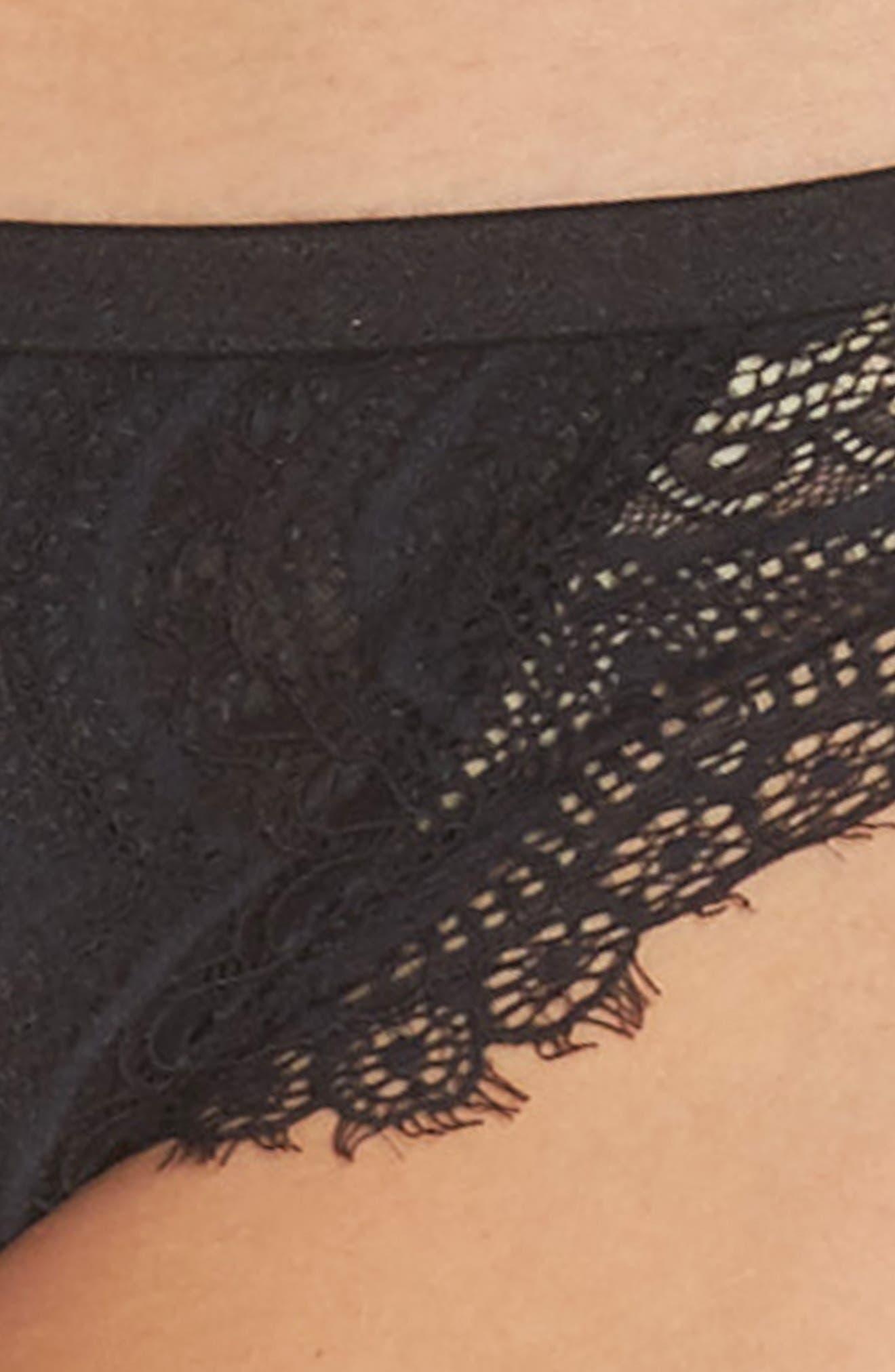 Intimately FP Clara Tanga,                             Alternate thumbnail 4, color,                             Black