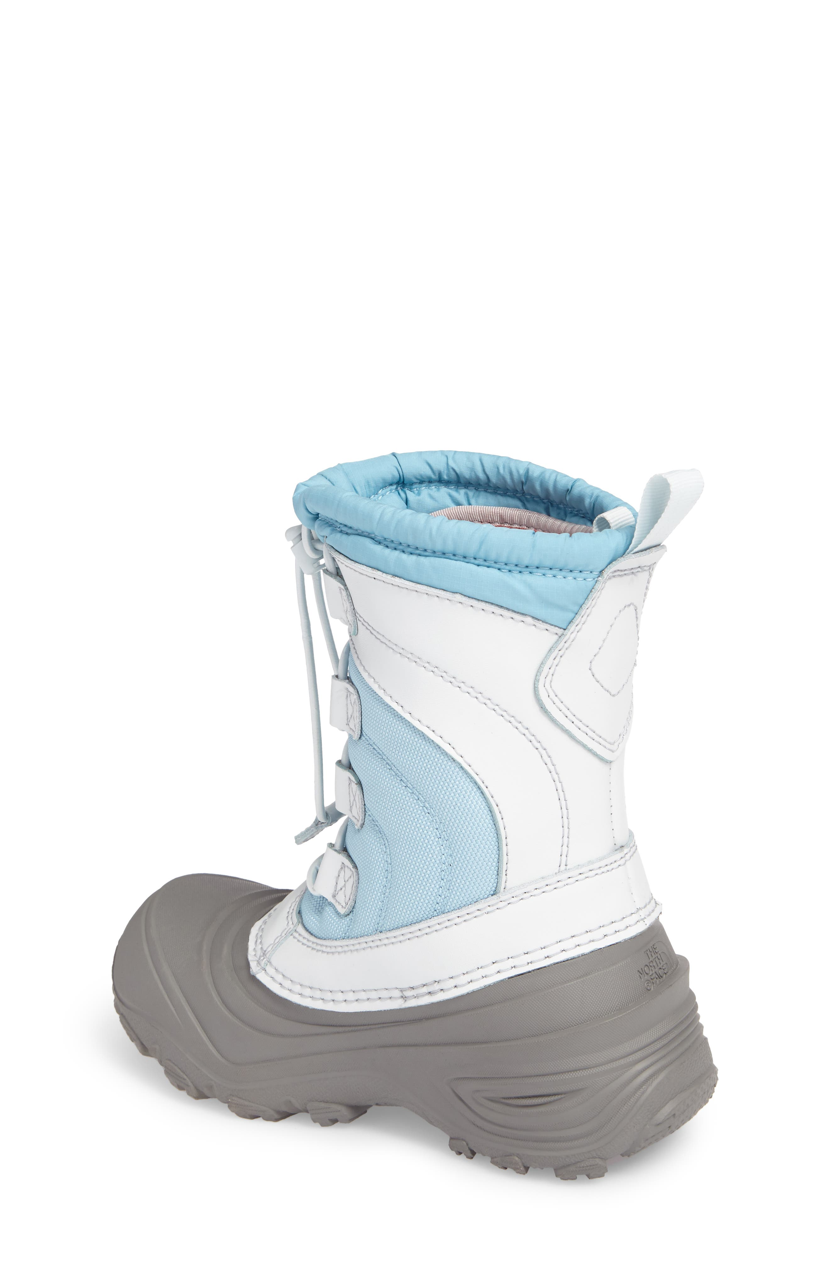 Alpenglow IV Waterproof Insulated Winter Boot,                             Alternate thumbnail 2, color,                             Blizzard Blue/ Ice Blue