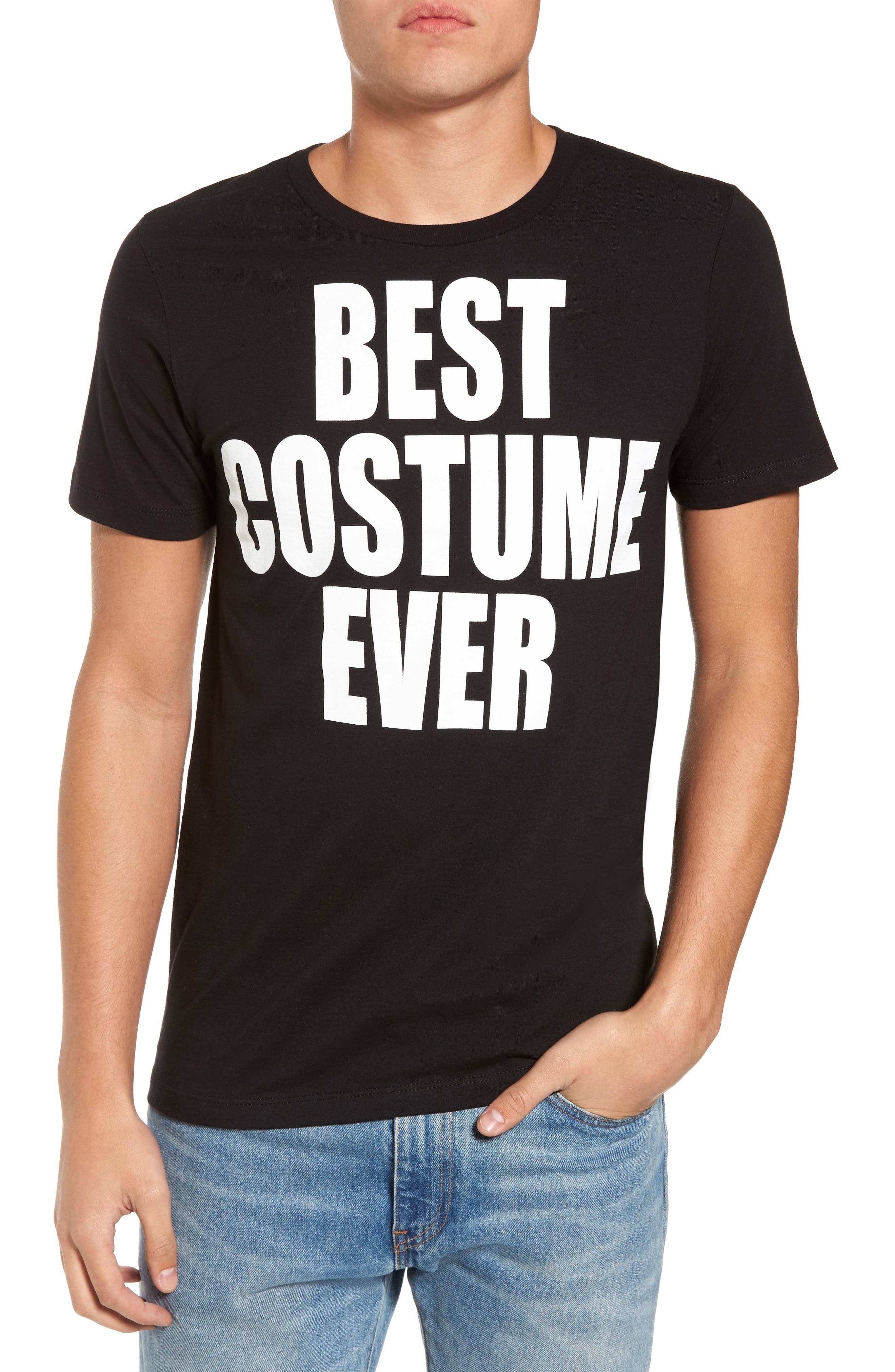 Best Costume Ever T-Shirt,                         Main,                         color, Black Best Costume