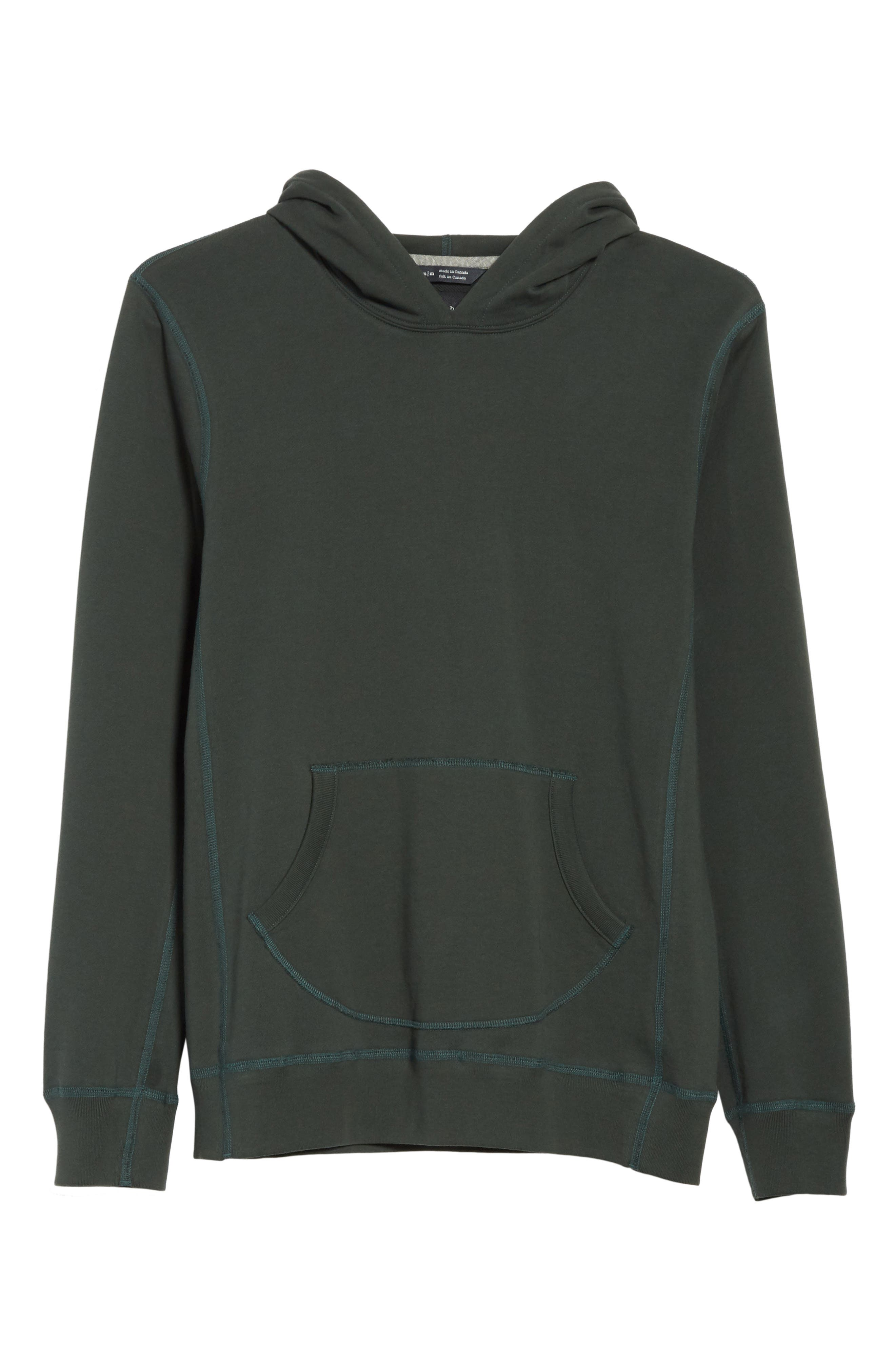 Hoodie,                             Alternate thumbnail 6, color,                             Jungle Green