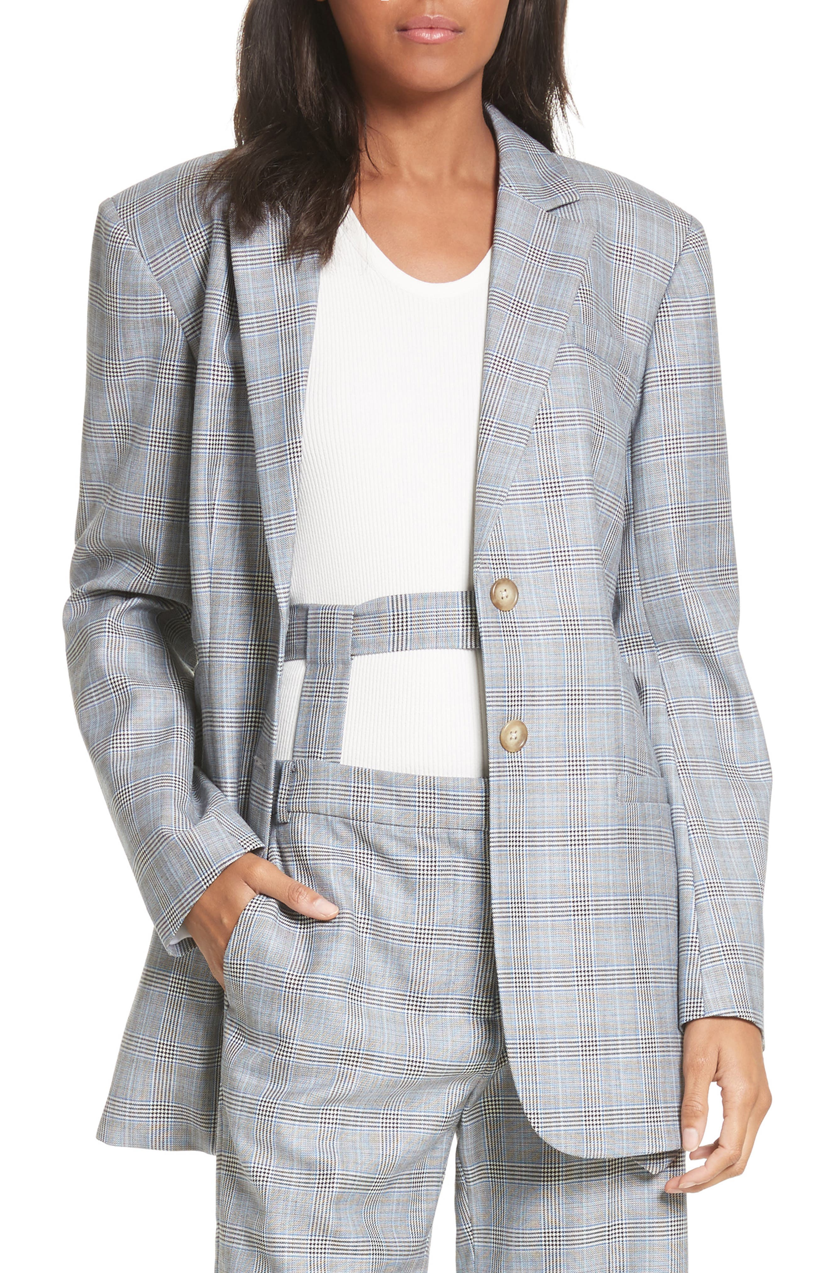 Tibi Side Cutout Blazer