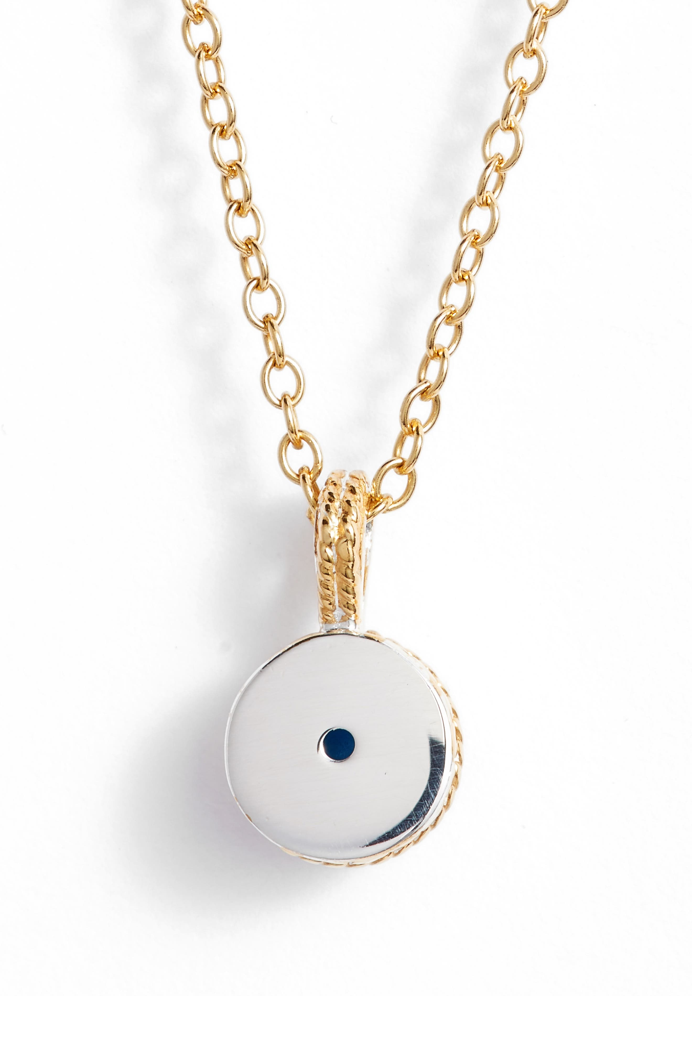 Alternate Image 4  - Anna Beck Semiprecious Stone Round Drop Pendant Necklace