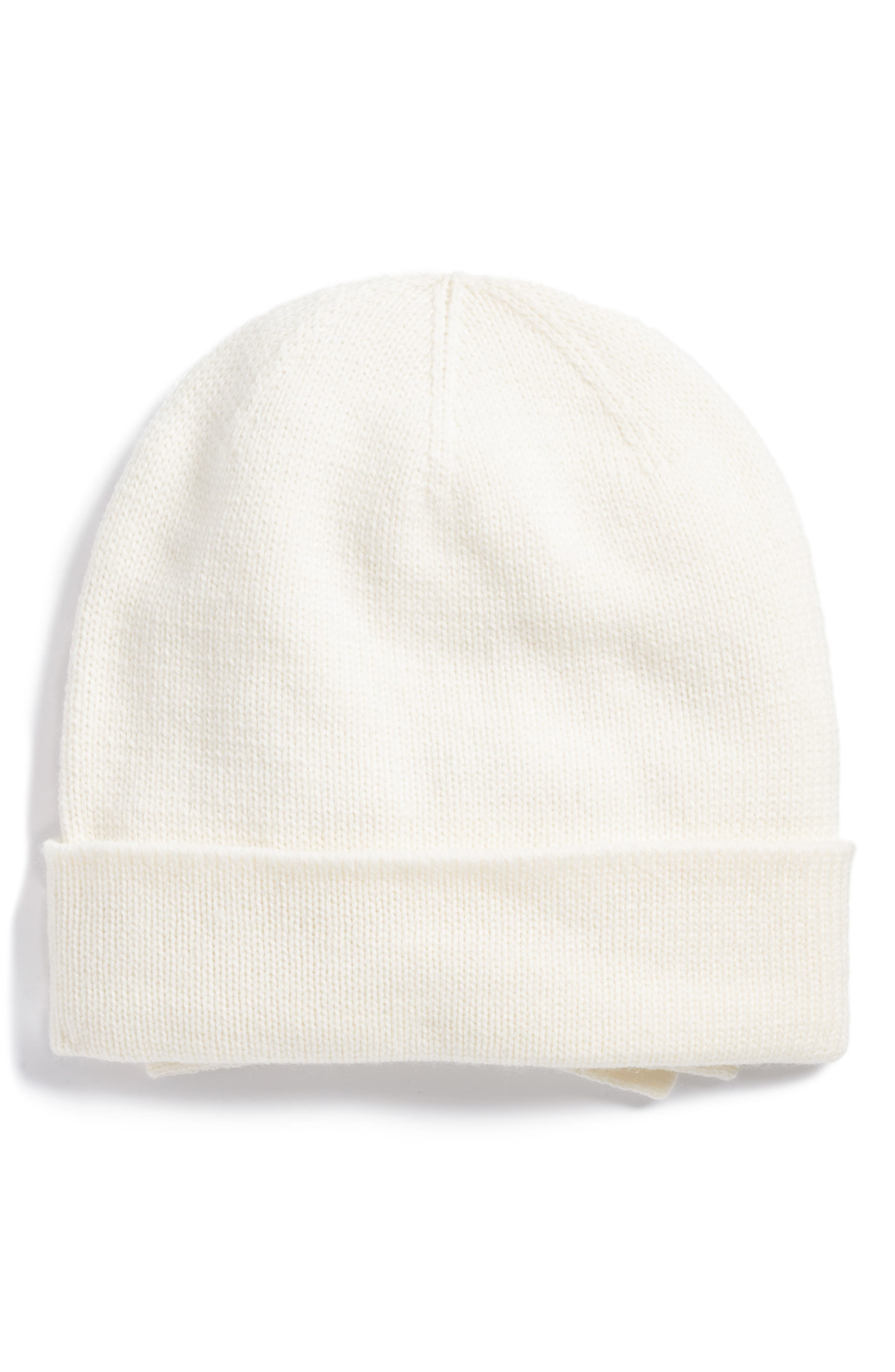 Alternate Image 1 Selected - kate spade new york half bow beanie