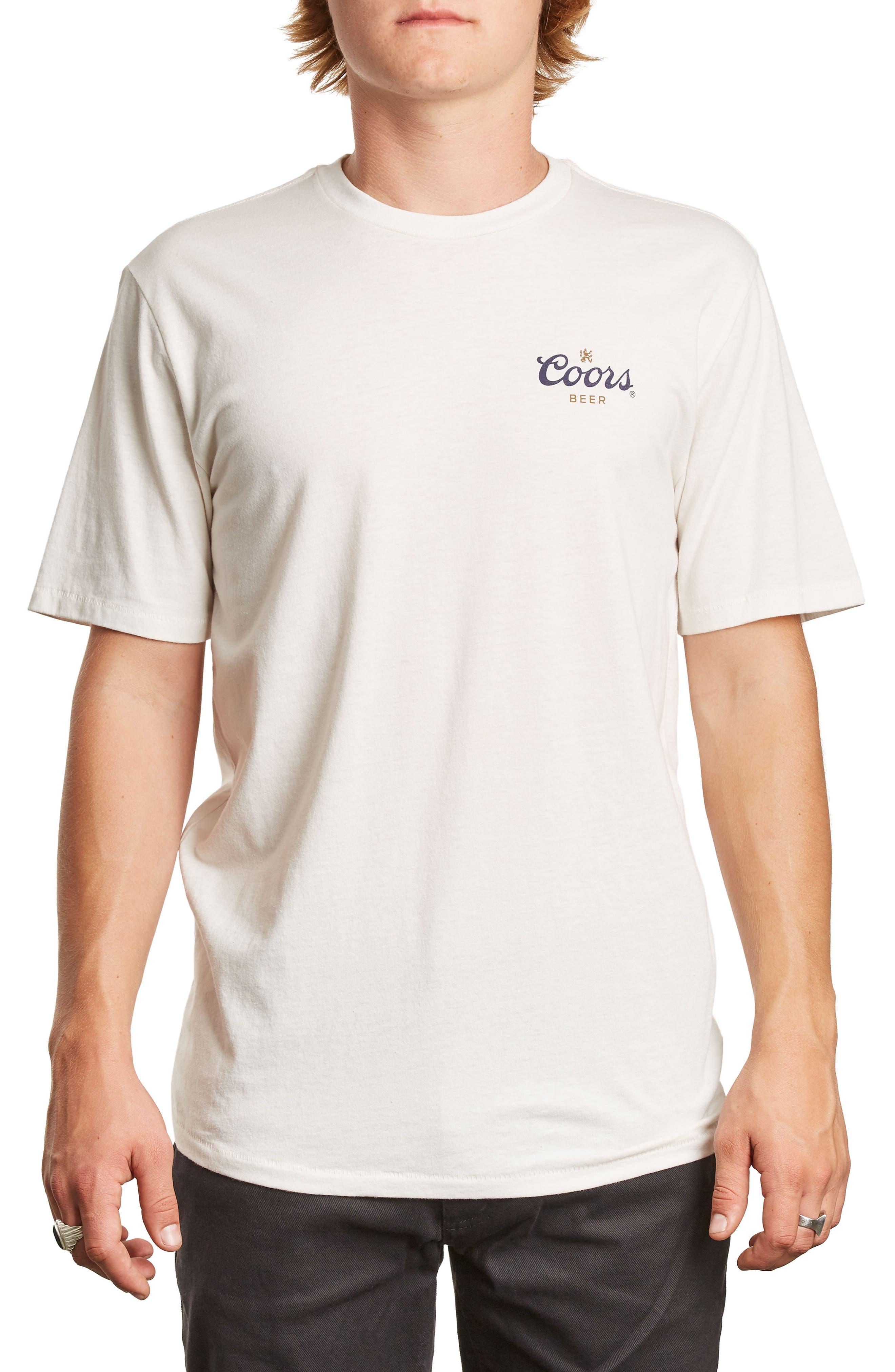 Brixton x Coors Cask T-Shirt