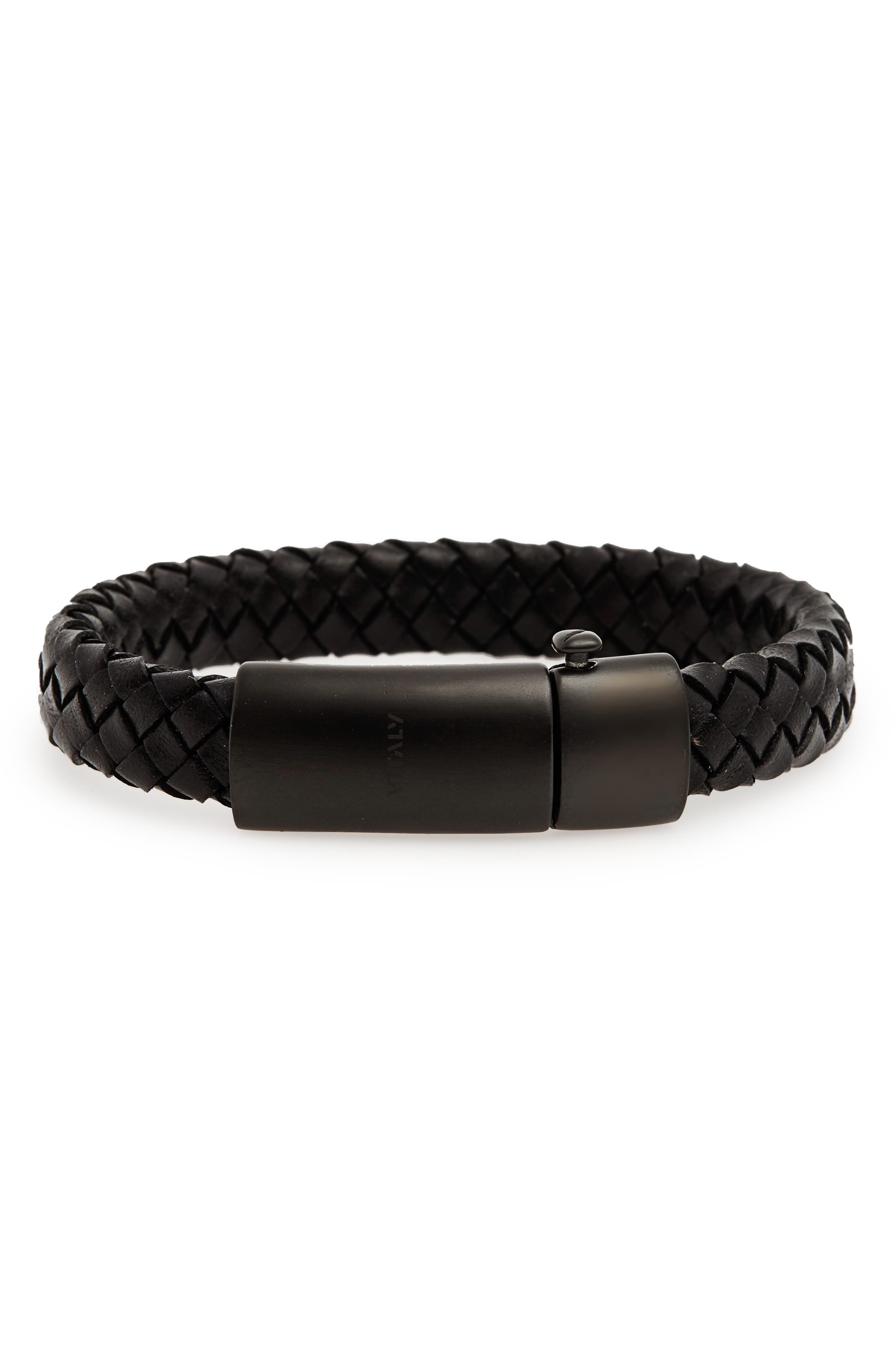 Vitaly Raide Leather Bracelet