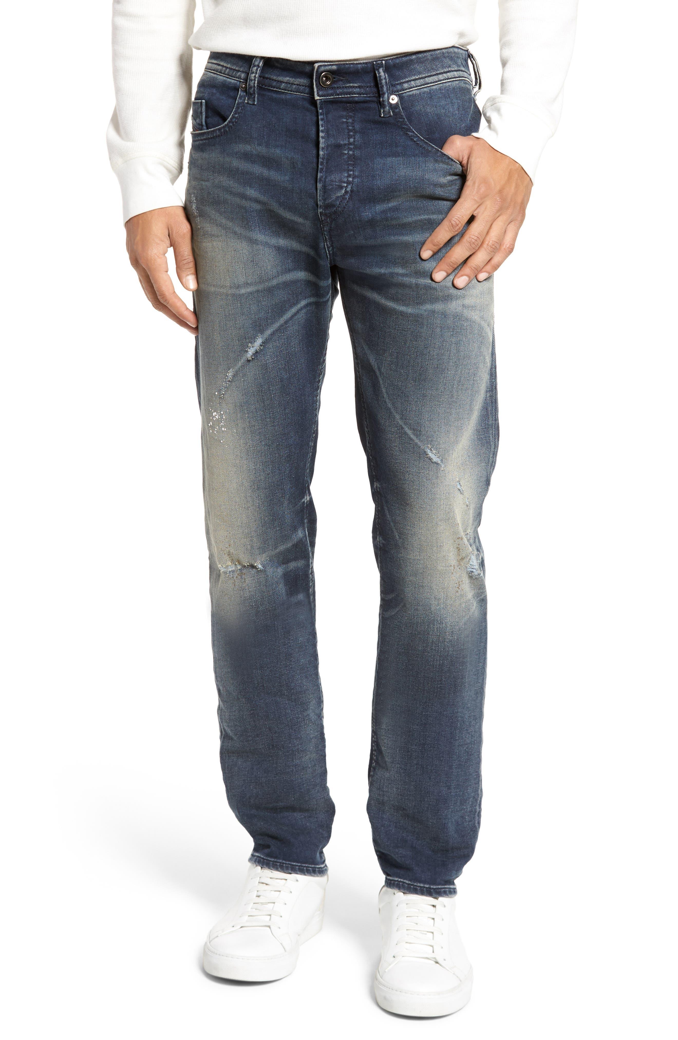 Buster Slim Straight Leg Jeans,                         Main,                         color, 0687U