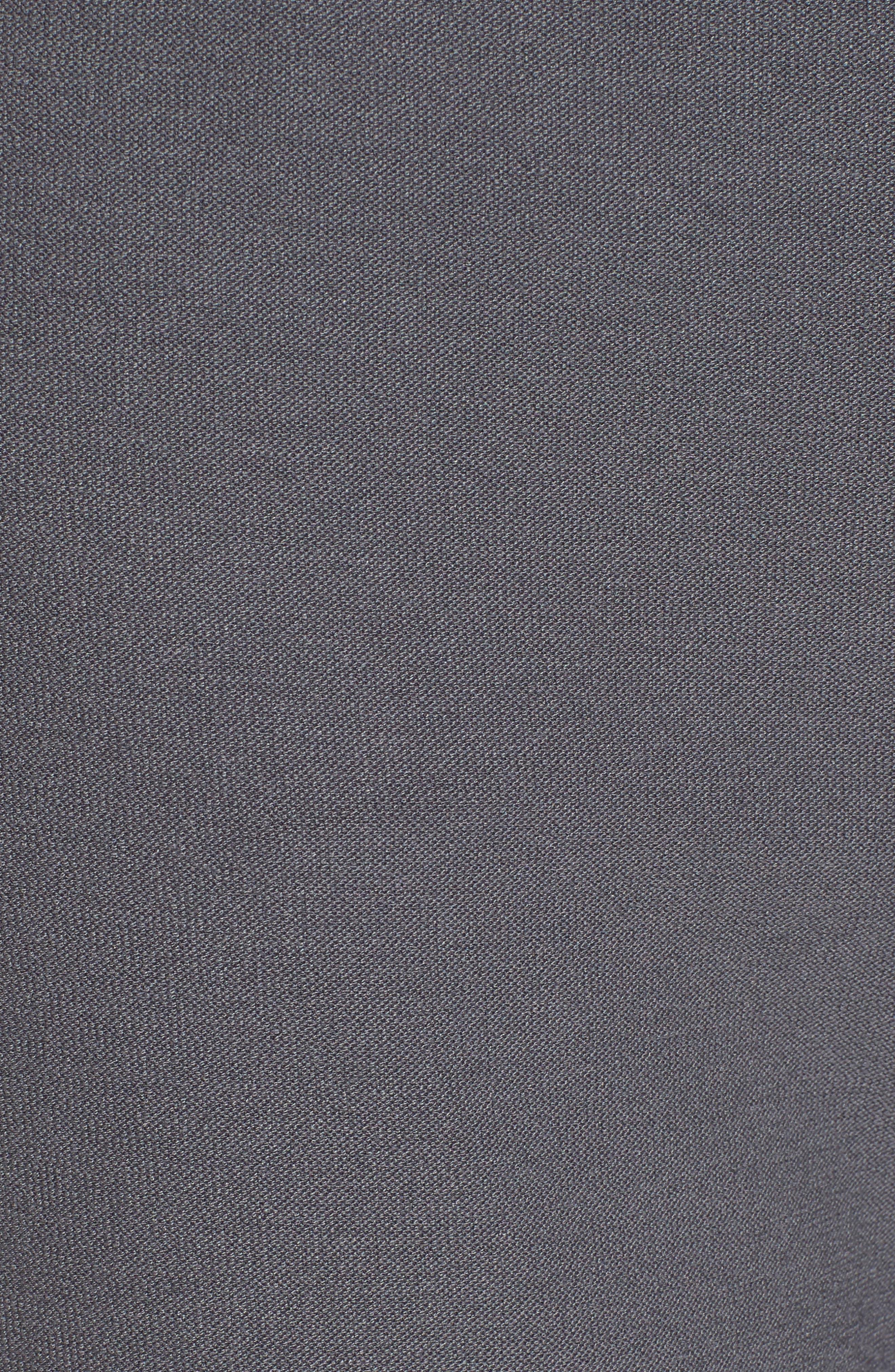 Slim Knit Pants,                             Alternate thumbnail 4, color,                             Ash