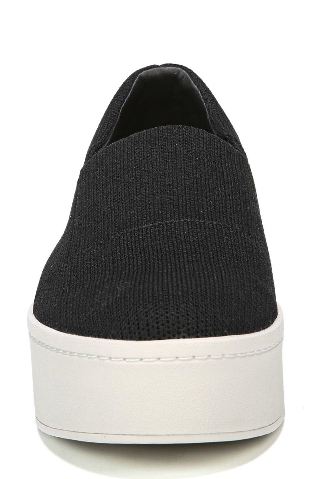 Walsh Slip-On Sneaker,                             Alternate thumbnail 4, color,                             Black
