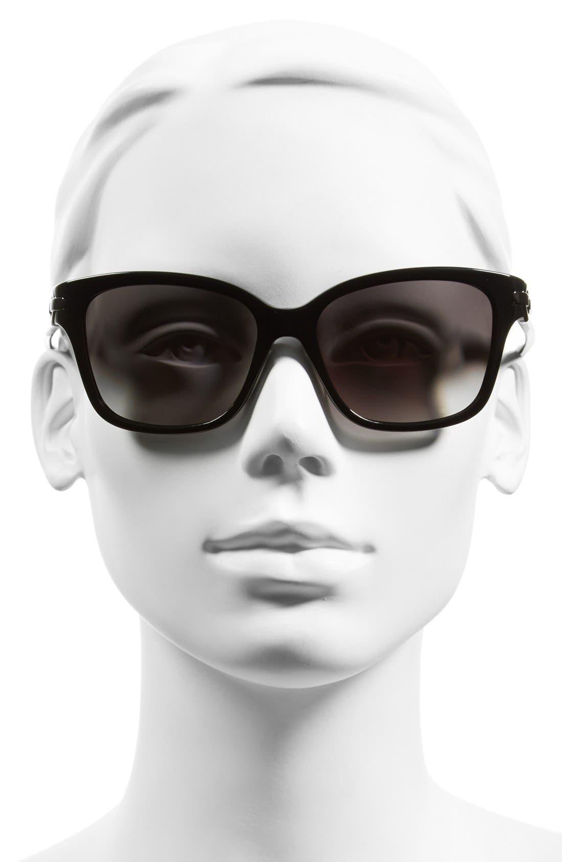 Alternate Image 2  - Diane von Furstenberg 'Riley' 55mm Retro Sunglasses