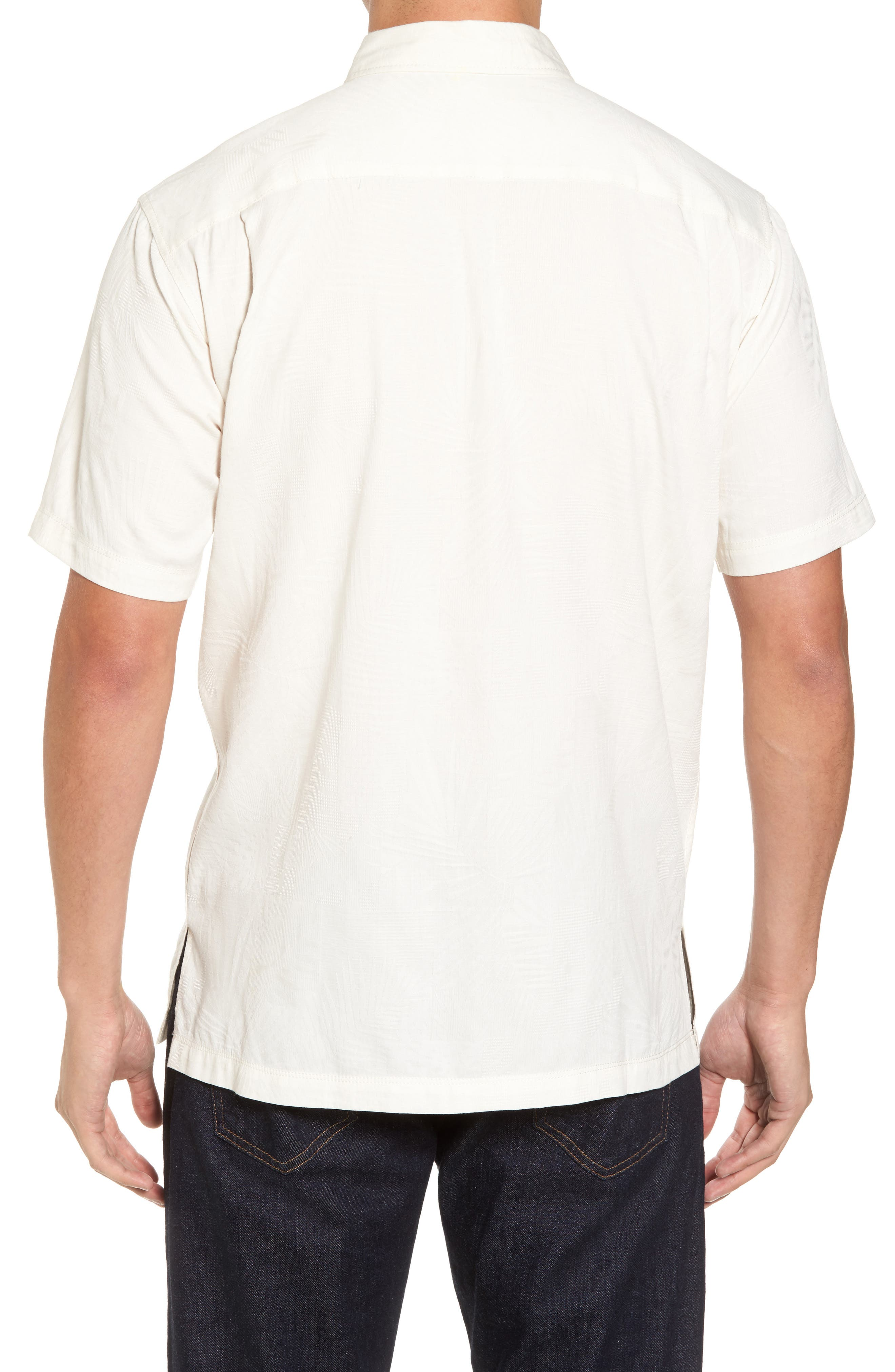 Milagro Classic Fit Sport Shirt,                             Alternate thumbnail 2, color,                             Eggshell