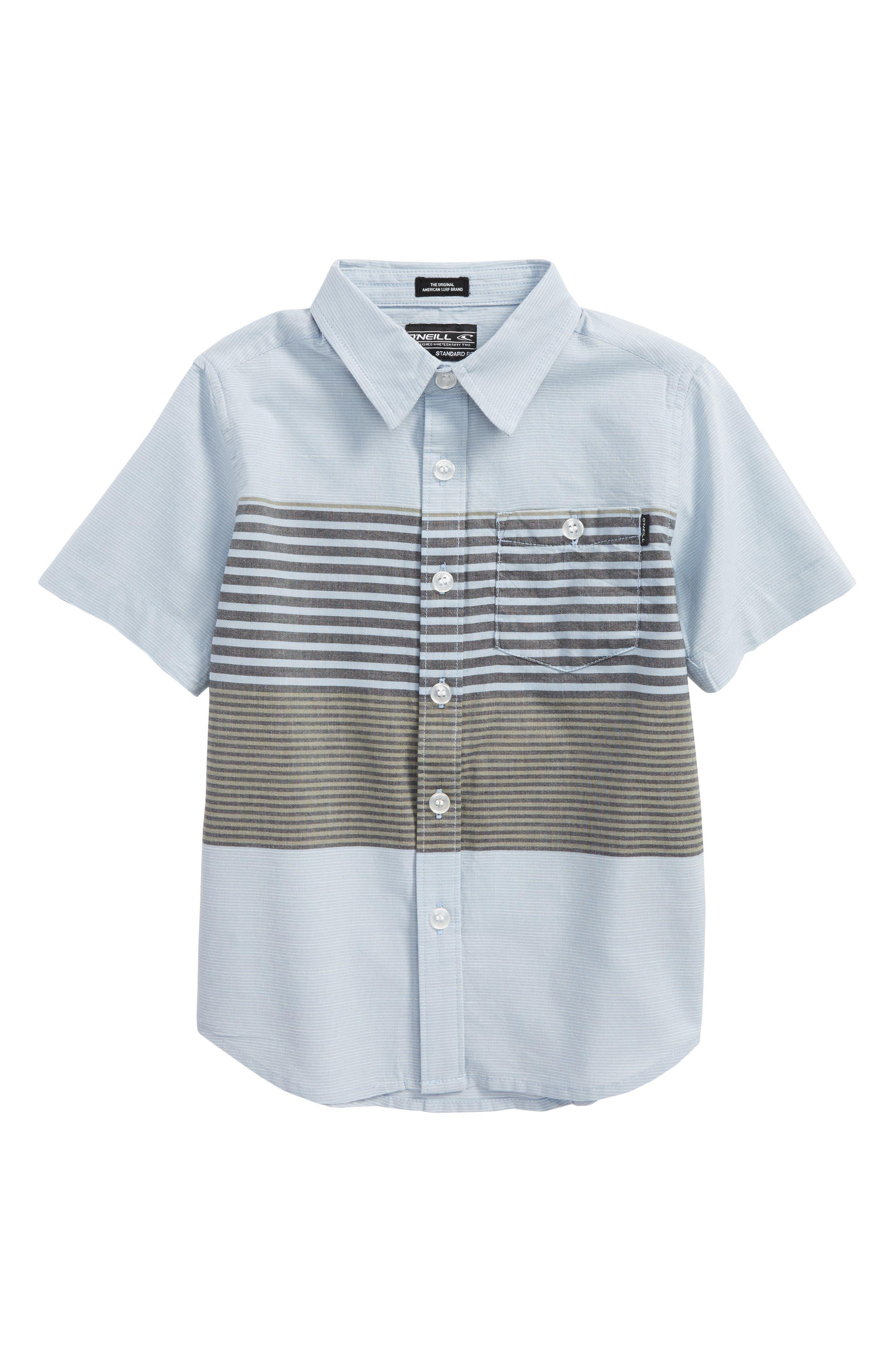 Alternate Image 1 Selected - O'Neill Altair Woven Shirt (Little Boys)