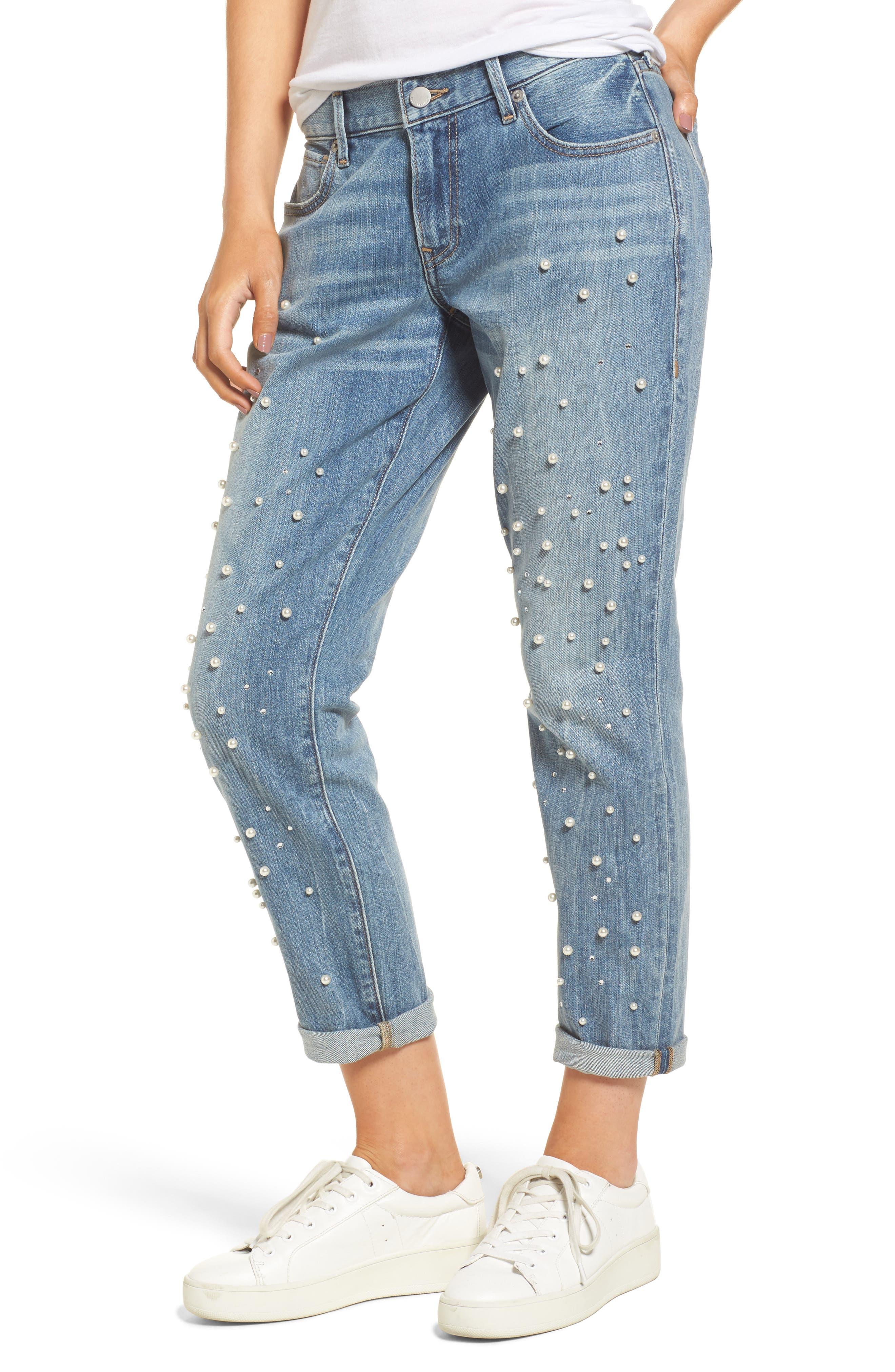 Cameron Slim Boyfriend Jeans,                         Main,                         color, Slip Away