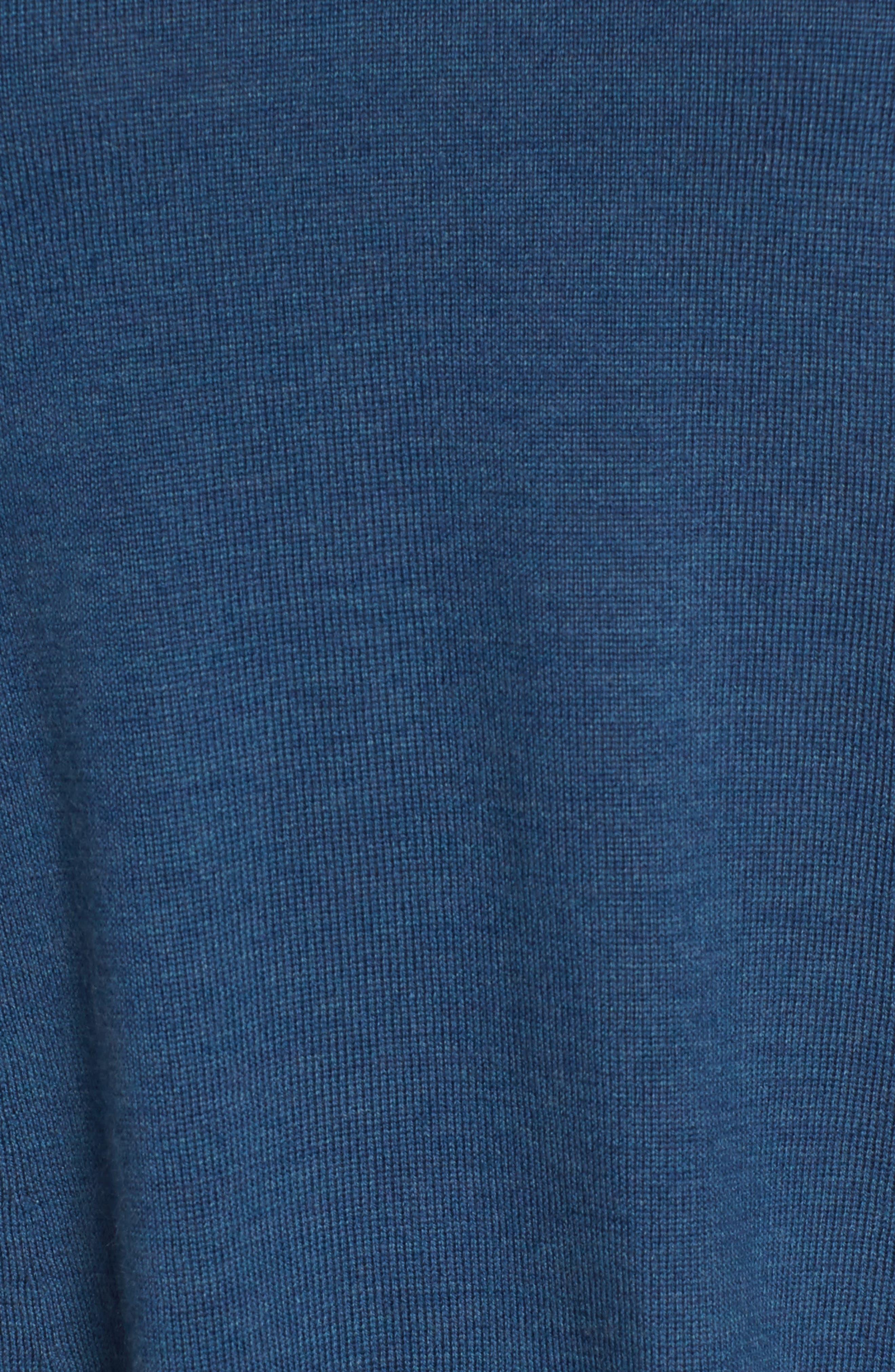 Alternate Image 5  - Eileen Fisher Lightweight Merino Jersey V-Neck Tunic (Regular & Petite)