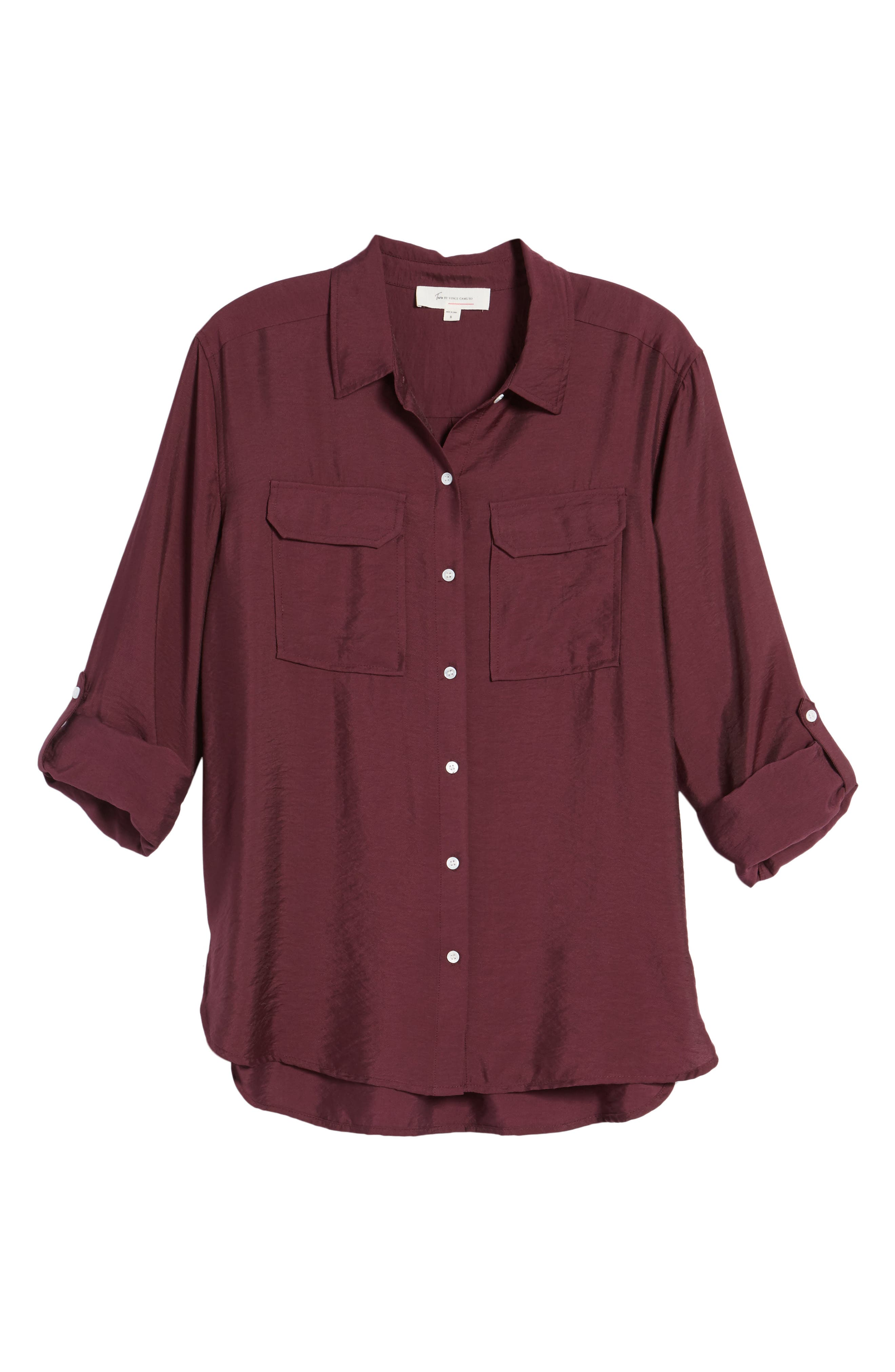 Alternate Image 6  - Two by Vince Camuto Utility Shirt