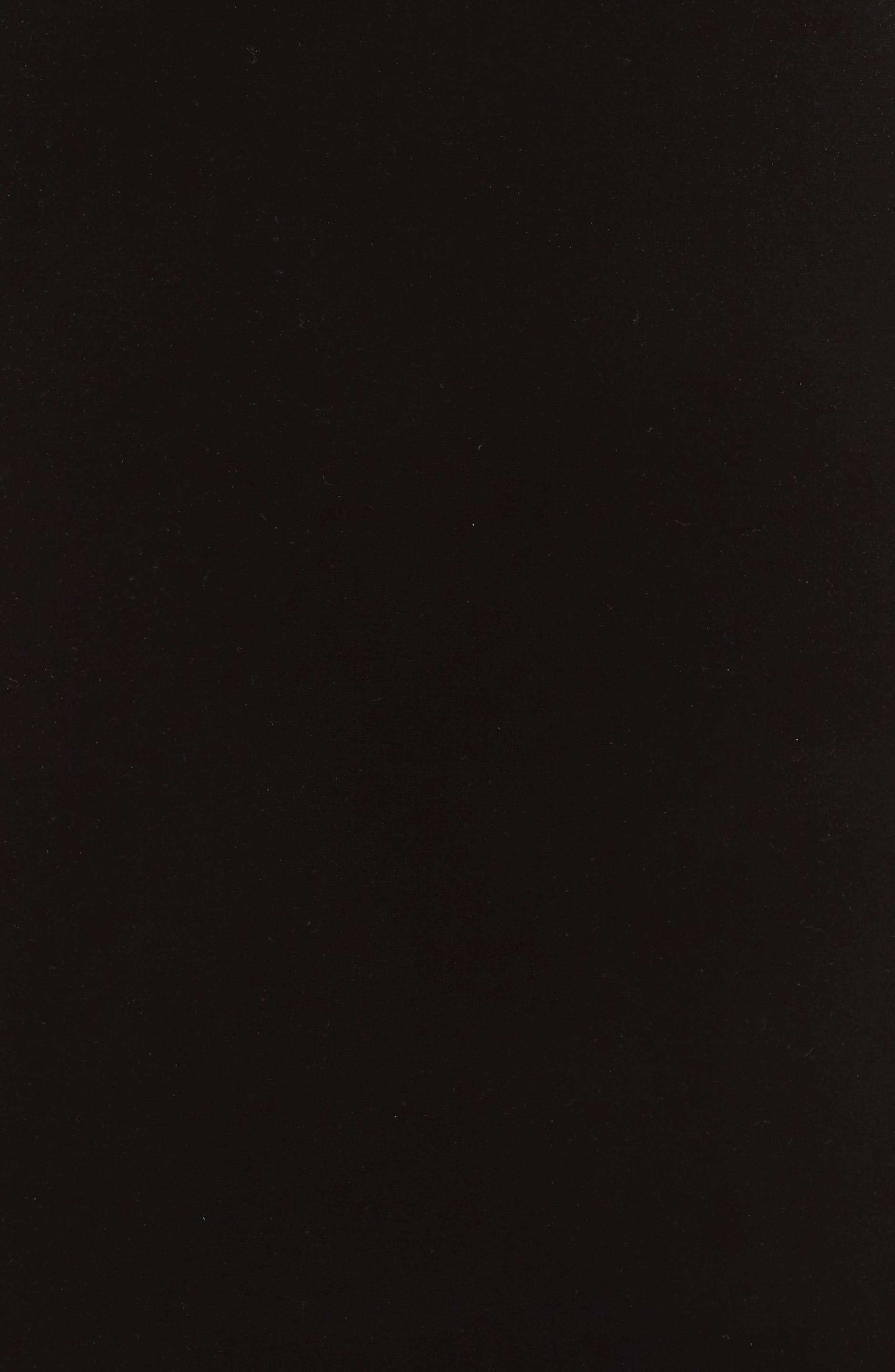 Viven Velvet Body-Con Dress,                             Alternate thumbnail 5, color,                             Black/ Black