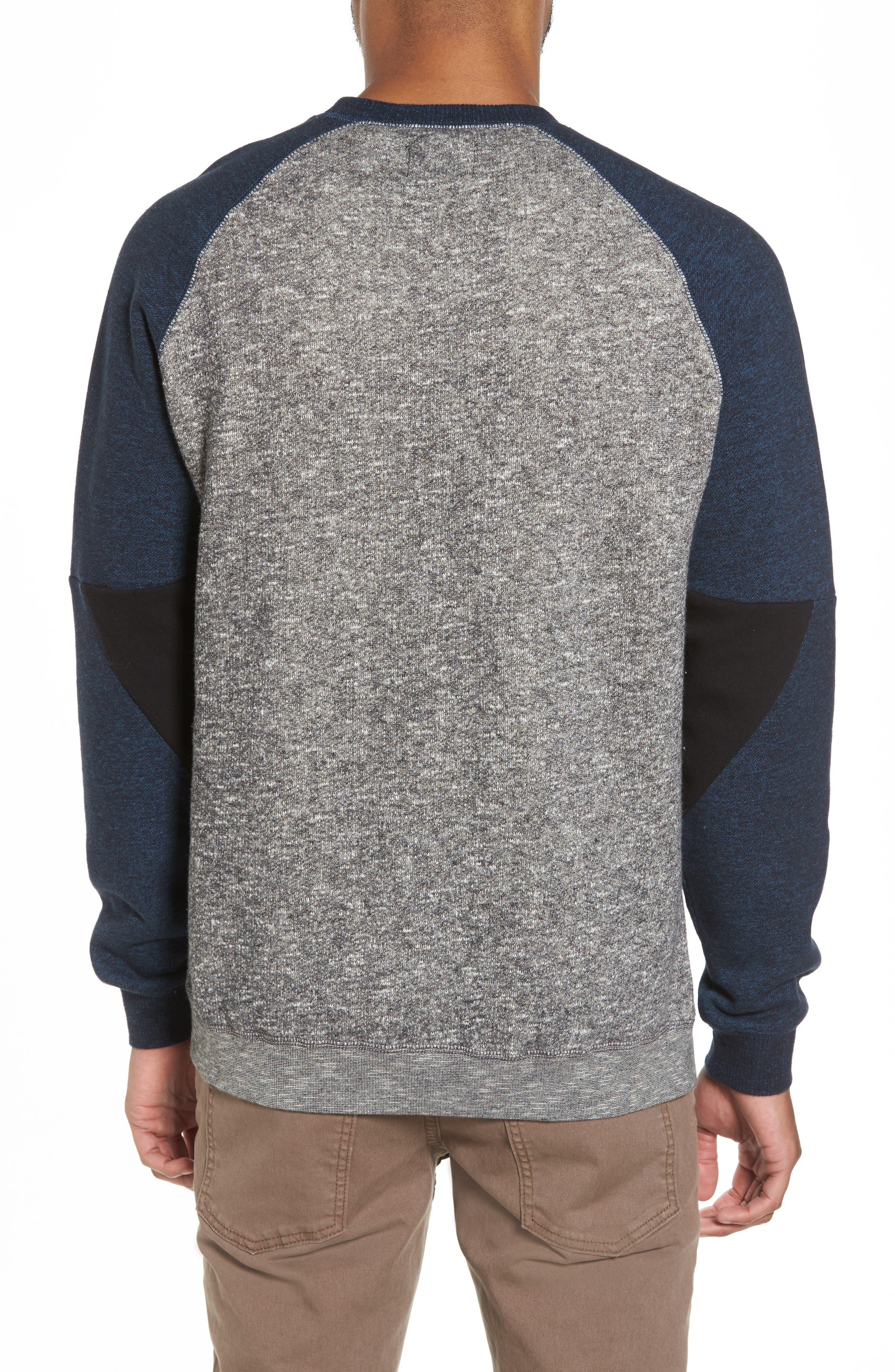 Winson Graphic Sweatshirt,                             Alternate thumbnail 2, color,                             Grey Speckle