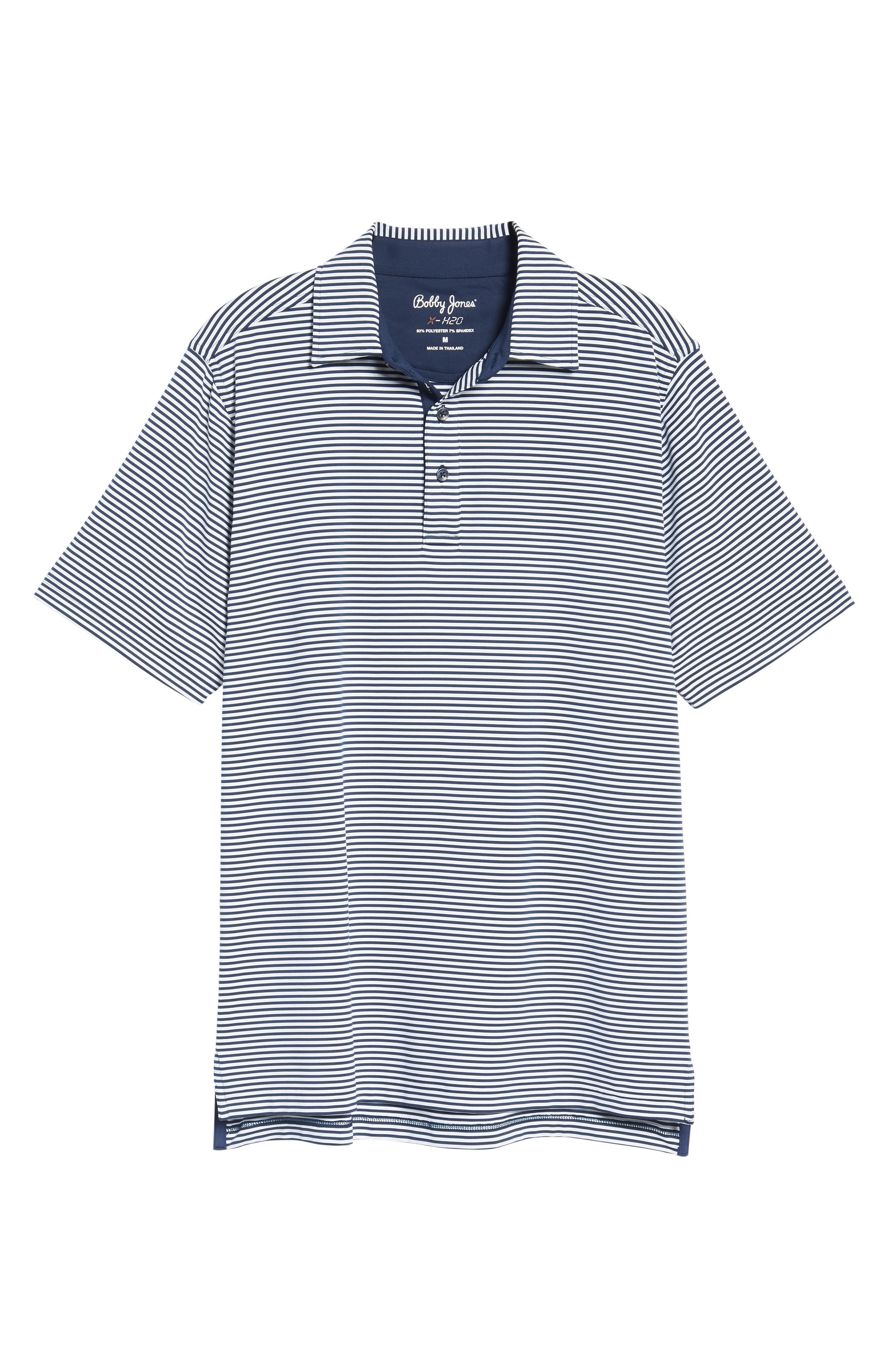XH20 Ranger Stripe Polo,                         Main,                         color, Midnight Ink
