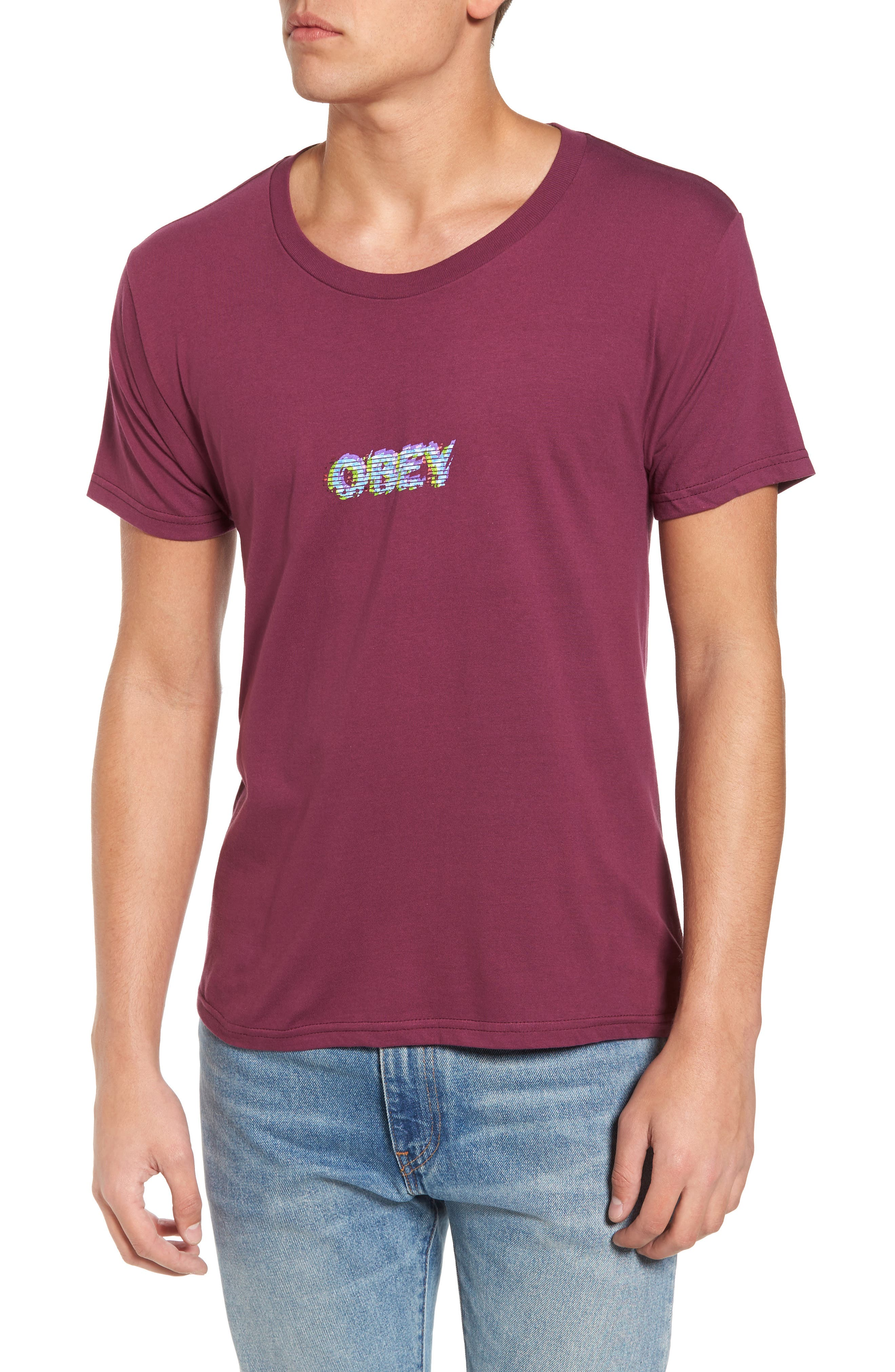 Main Image - Obey Creep Scan T-Shirt