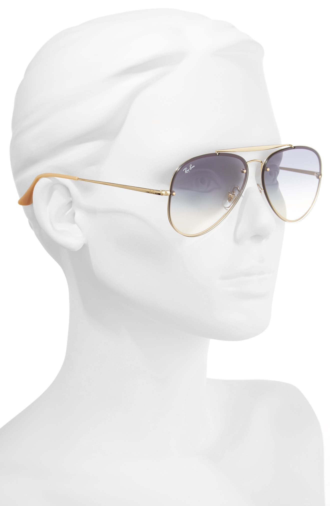 Alternate Image 2  - Ray-Ban 61mm Gradient Lens Aviator Sunglasses