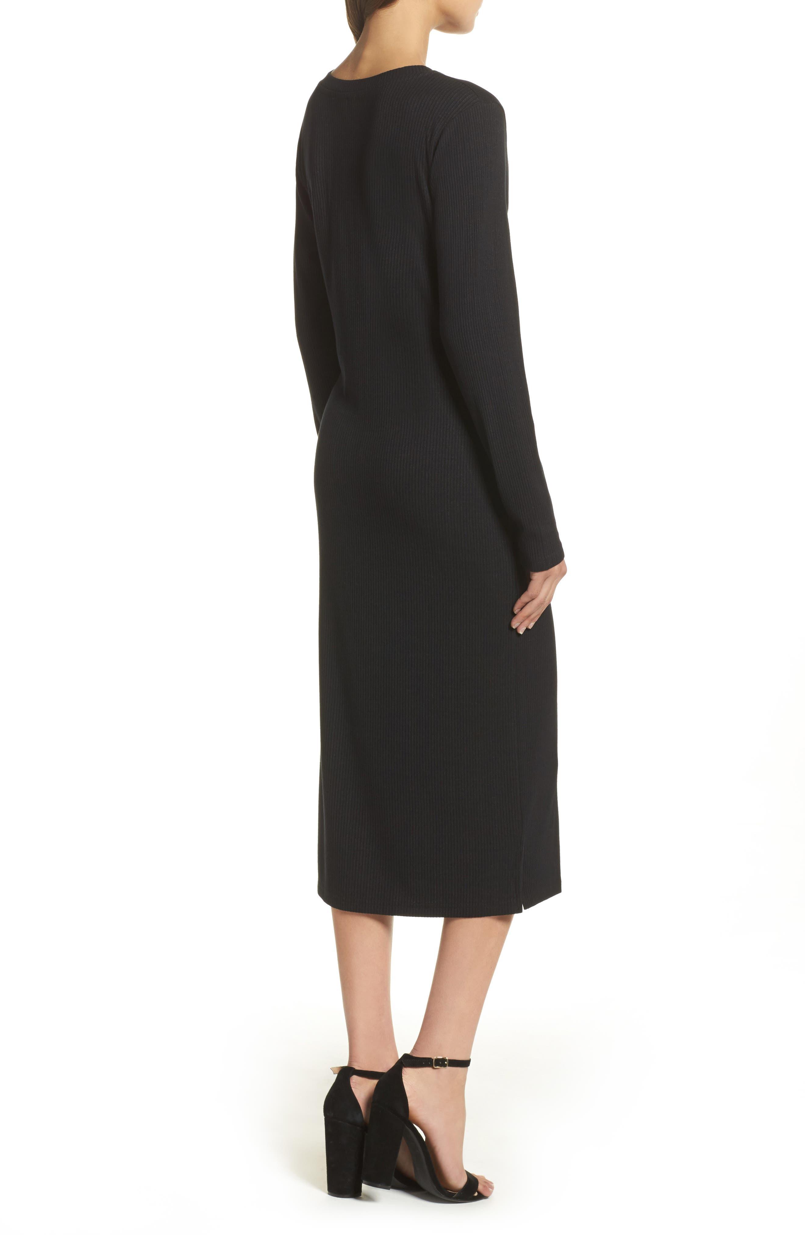 Alternate Image 2  - Knot Sisters Midi Dress