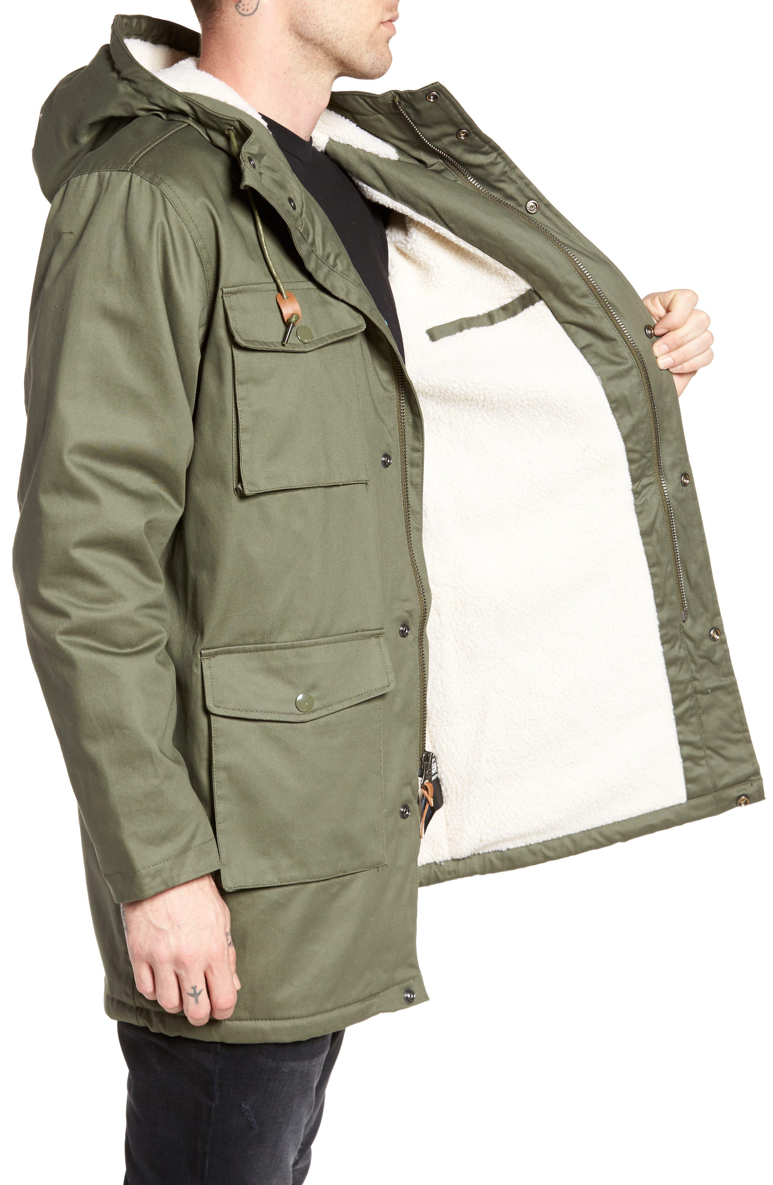 Heller II Jacket,                             Alternate thumbnail 3, color,                             Army