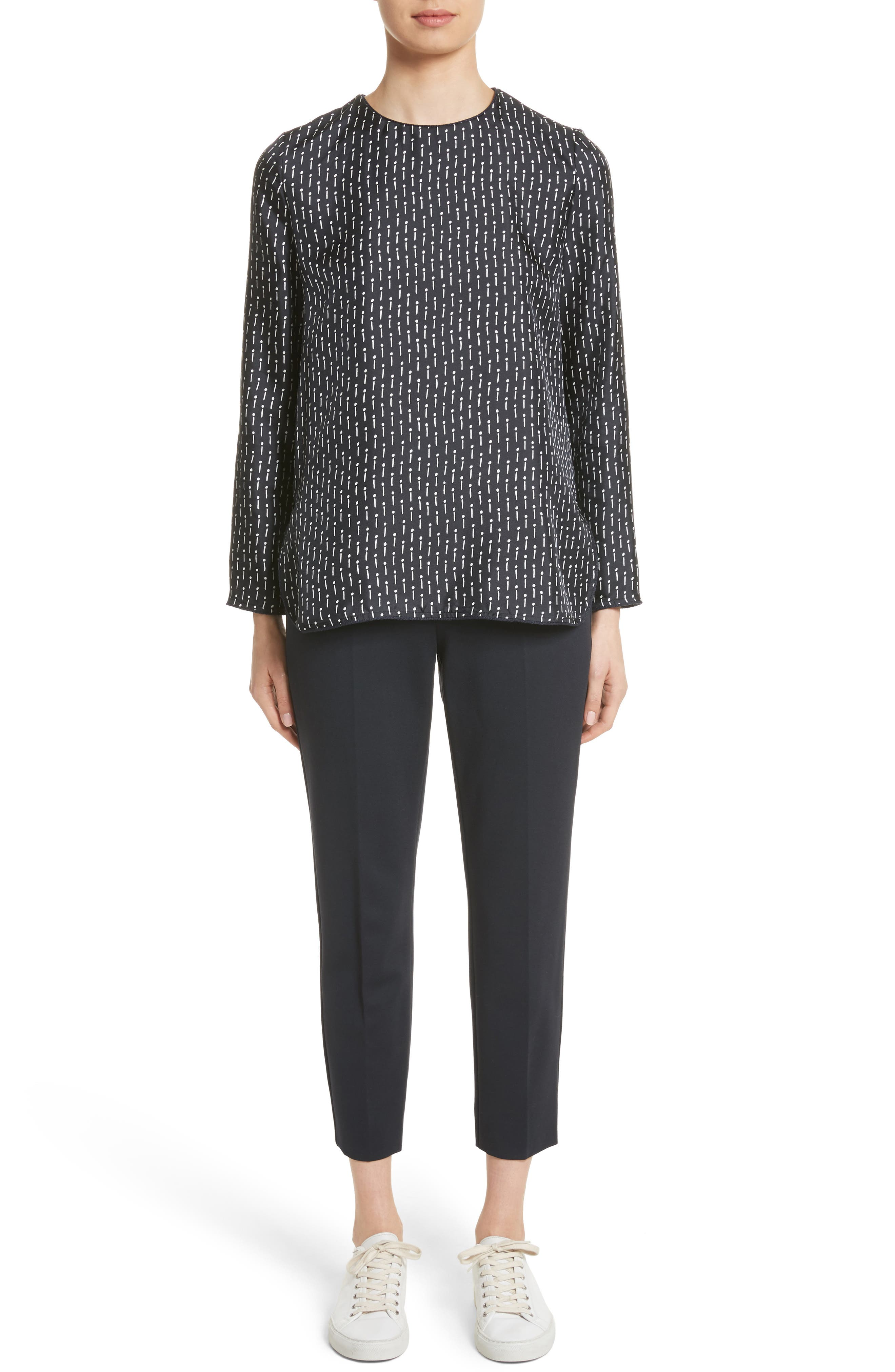 Alternate Image 8  - Max Mara Pegno Jersey Crop Pants