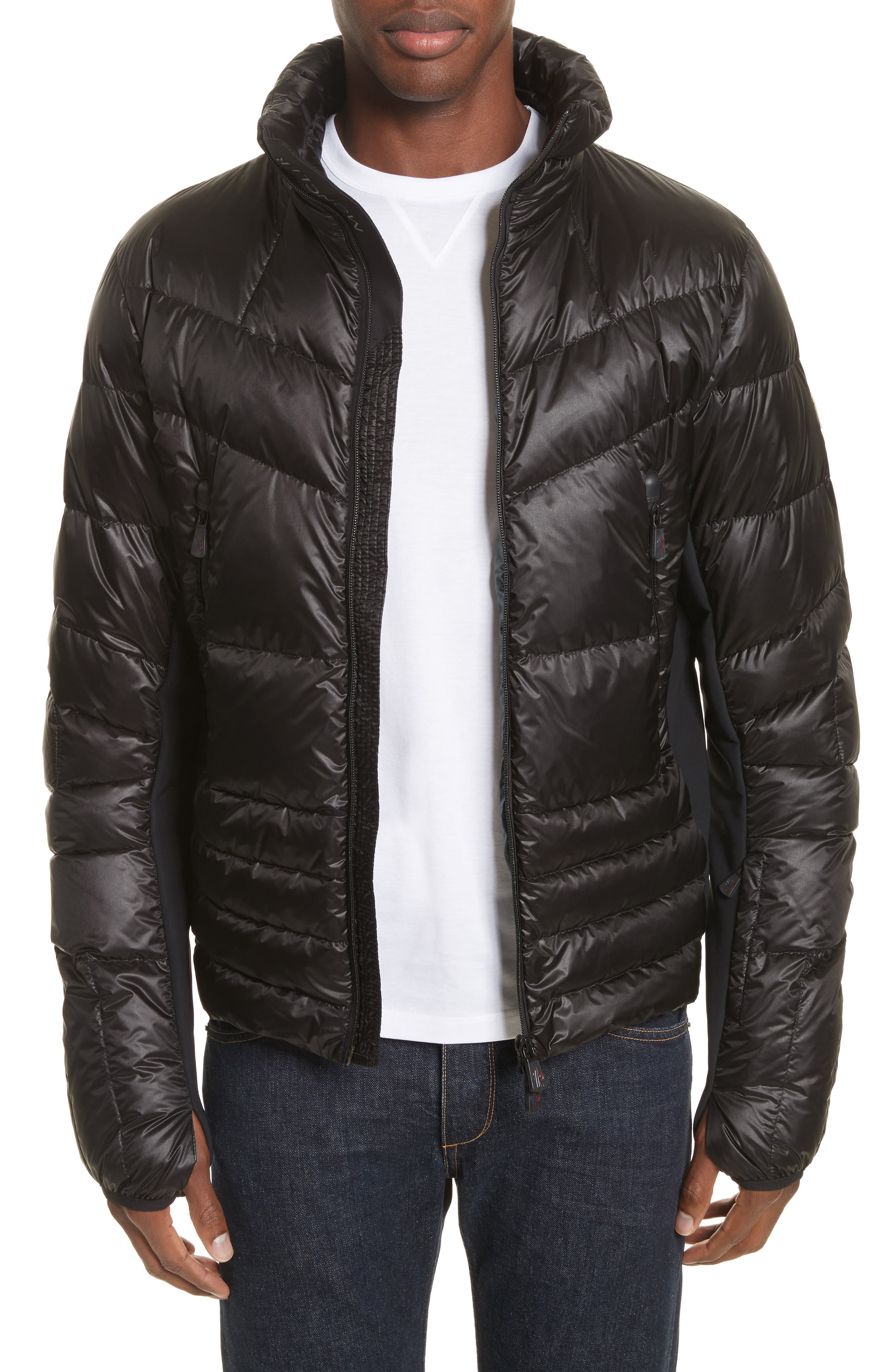 Grenoble Canmore Down Jacket,                             Alternate thumbnail 4, color,                             Black