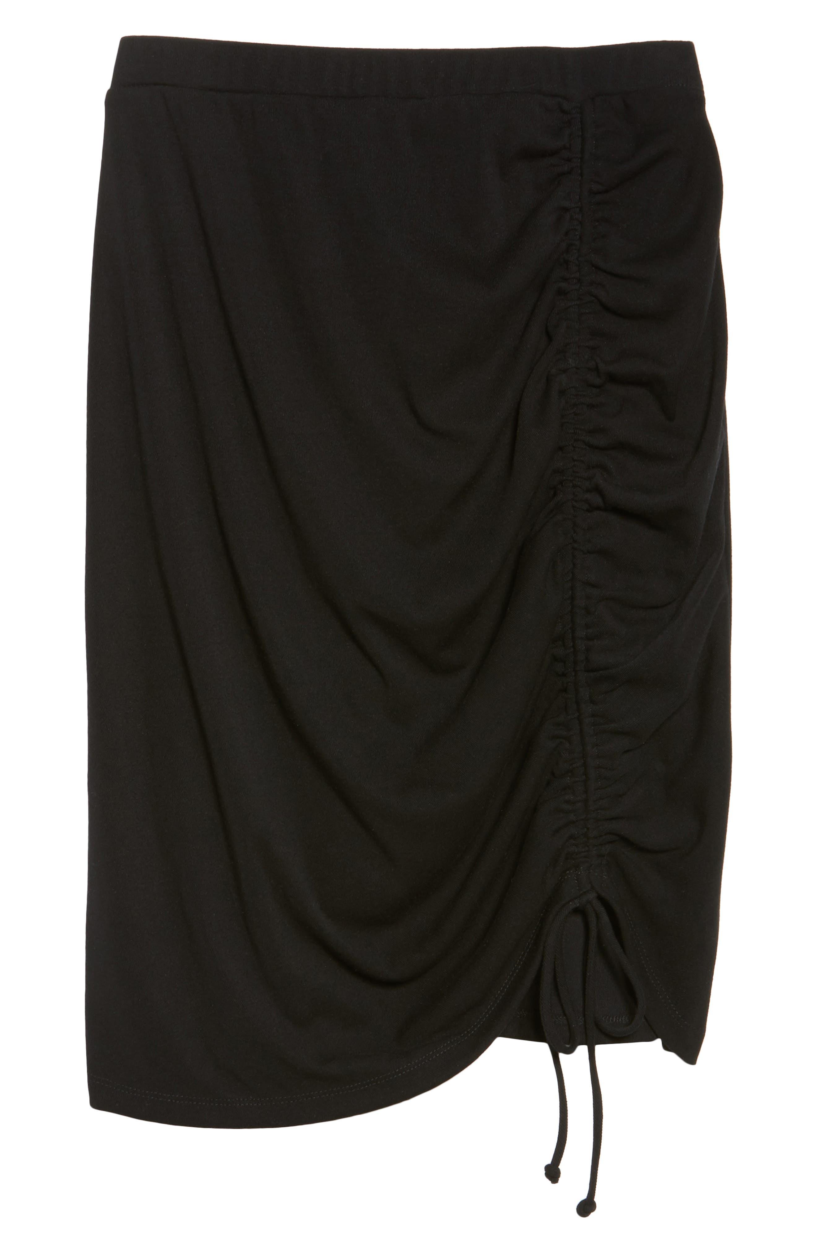 Alternate Image 6  - Sejour Side Ruched Pencil Skirt (Plus Size)