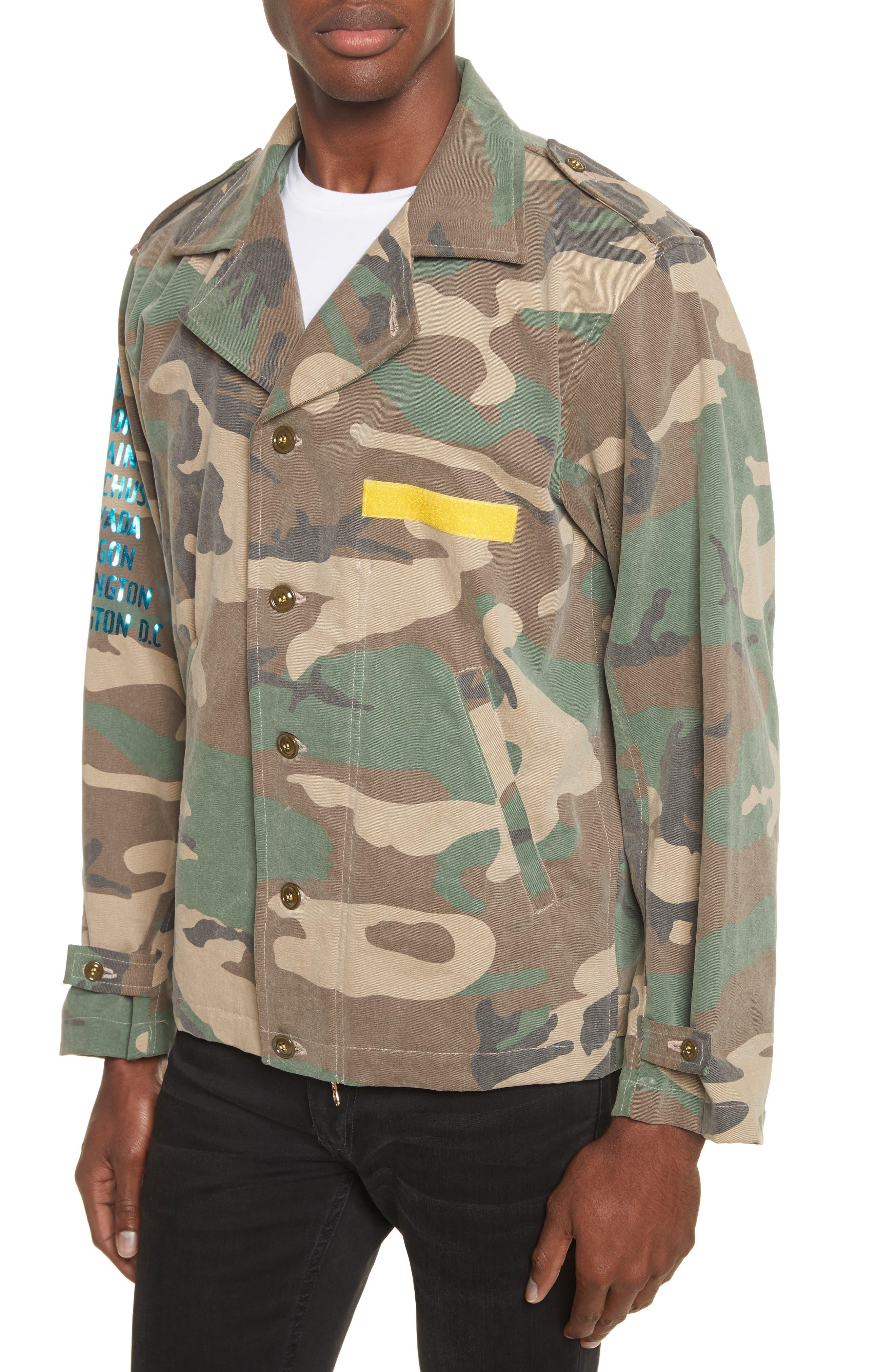Shango Camo Jacket,                             Alternate thumbnail 4, color,                             Camo Multi