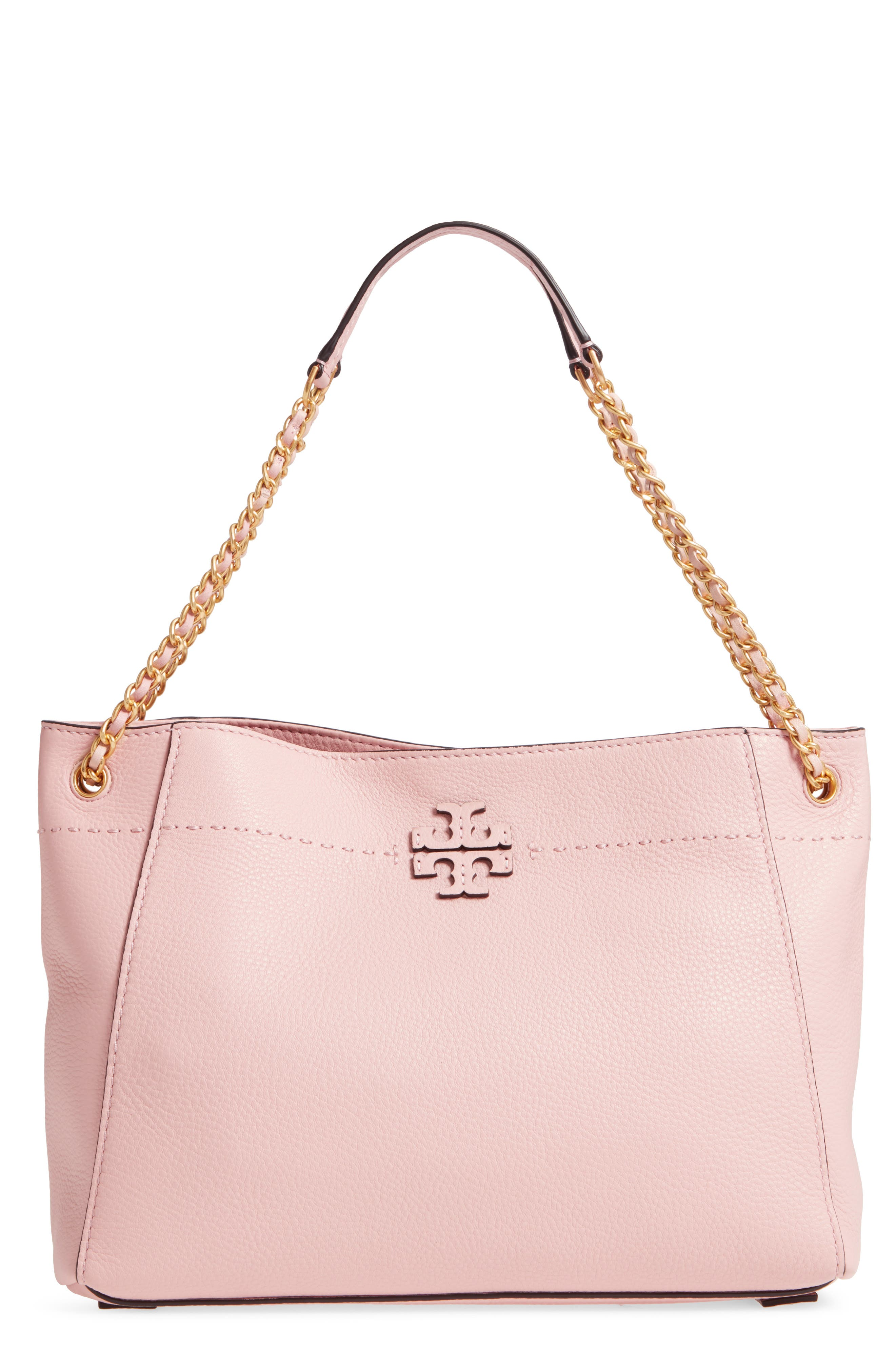 Alternate Image 1 Selected - Tory Burch McGraw Slouchy Leather Shoulder Bag