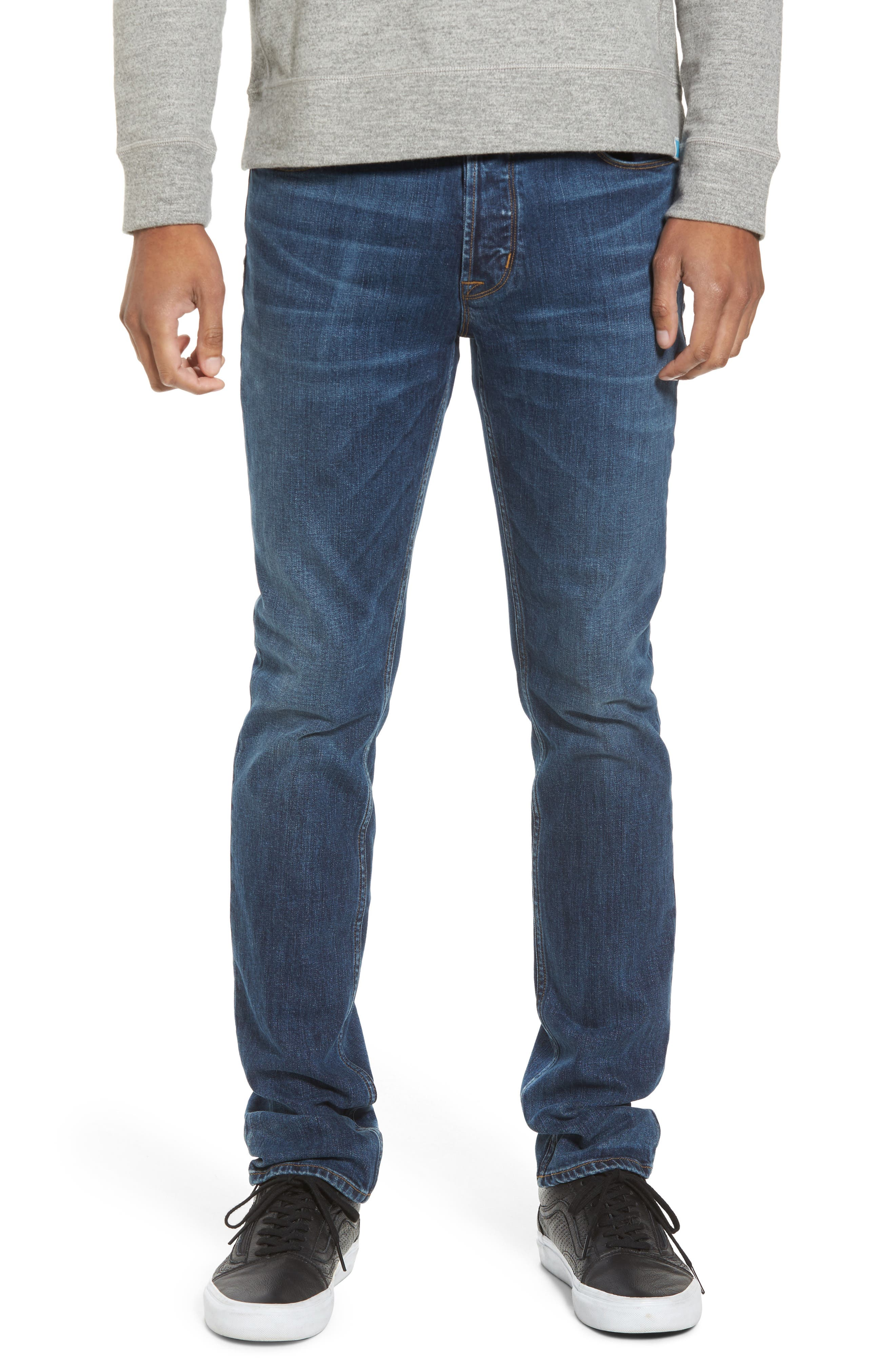 Hudson Jeans Sartor Slouchy Skinny Fit Jeans (Dropout)