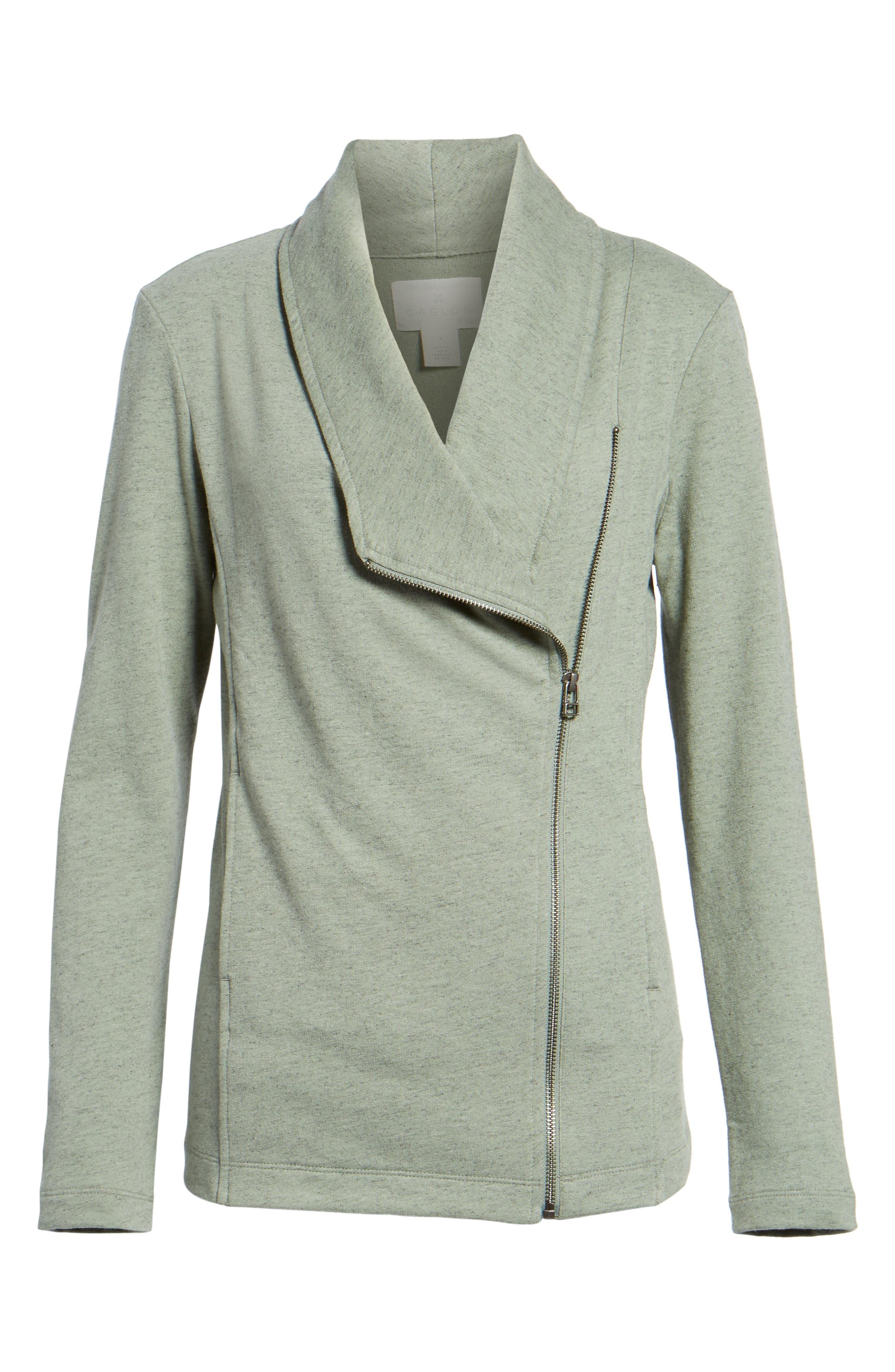 Alternate Image 6  - Caslon® Stella Knit Jacket (Regular & Petite)
