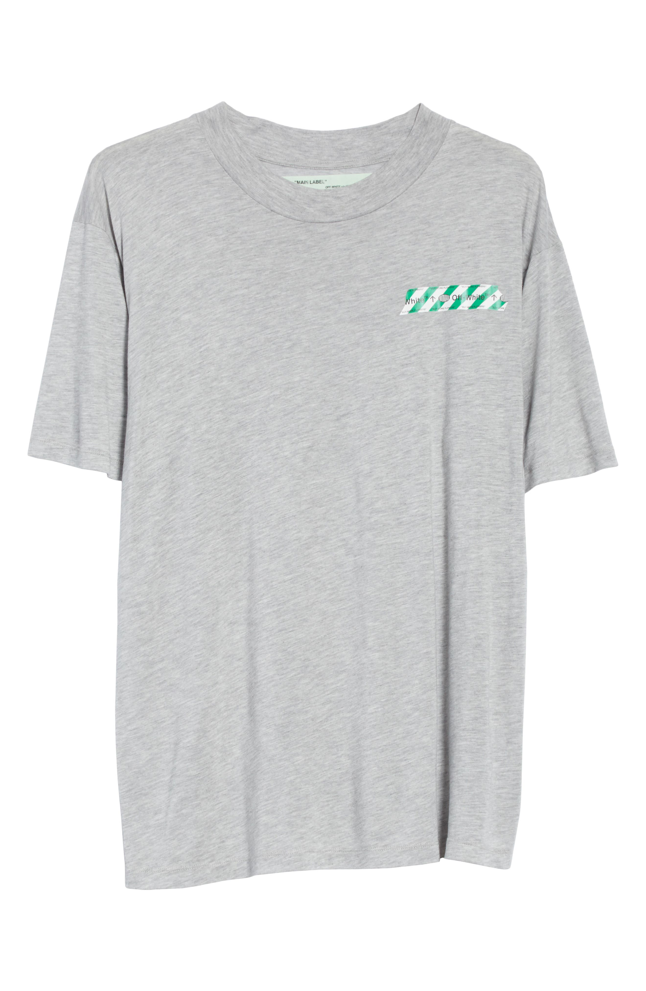 Alternate Image 6  - Off-White Woman Tape New over Tee