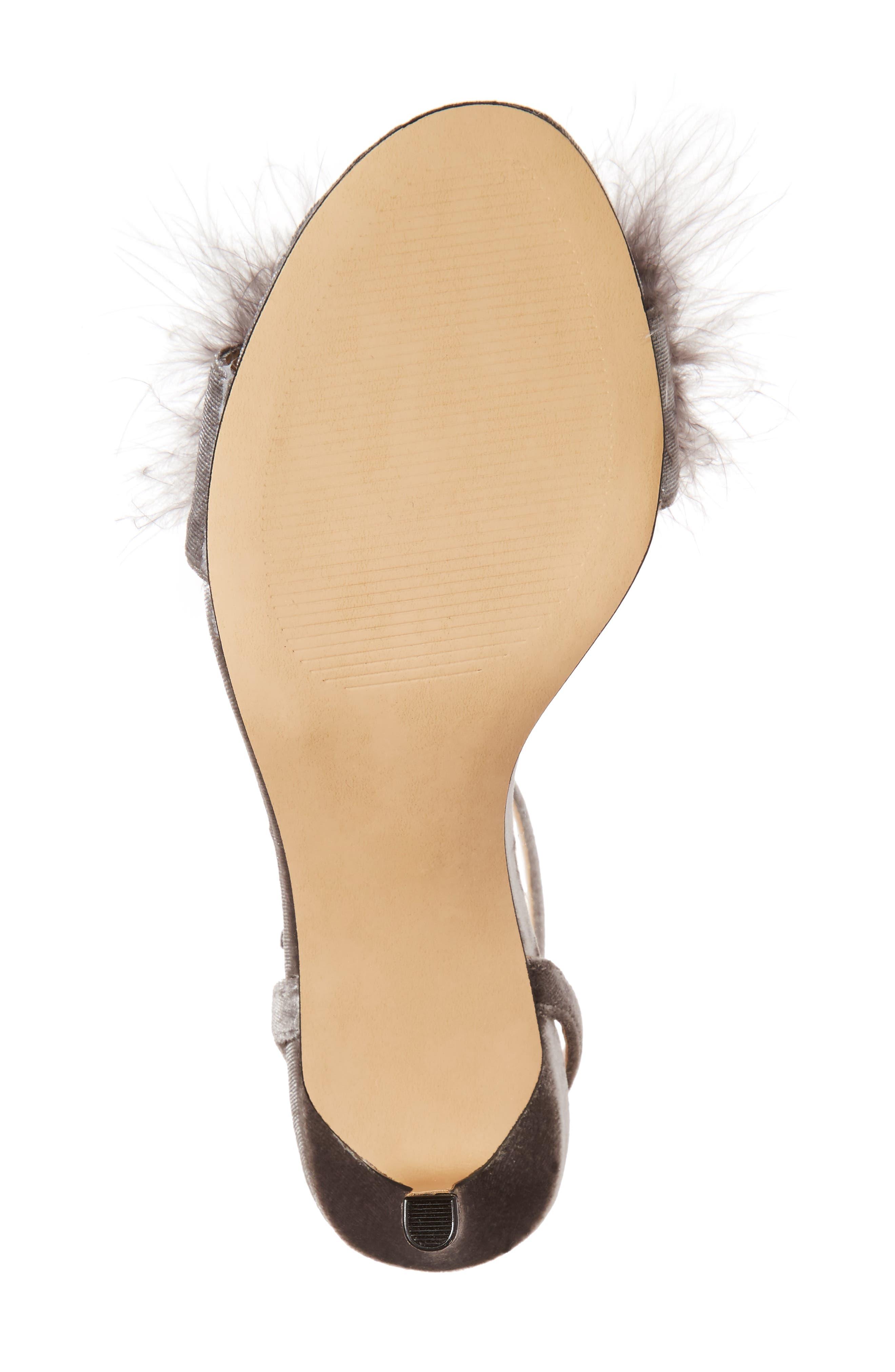 Alternate Image 6  - Sole Society Lindzay Feather Sandal (Women)