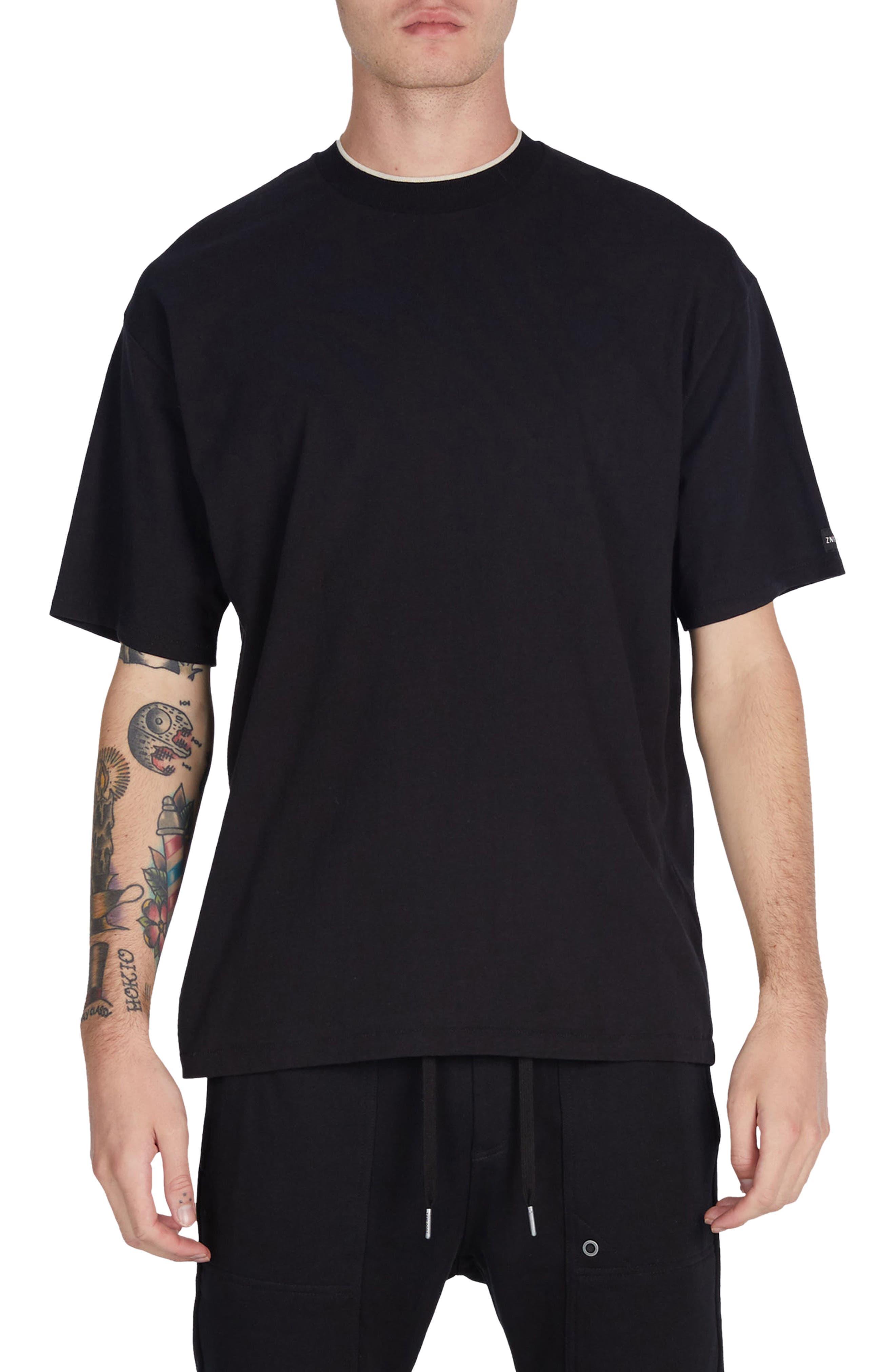 Tip Box T-Shirt,                             Main thumbnail 1, color,                             Black
