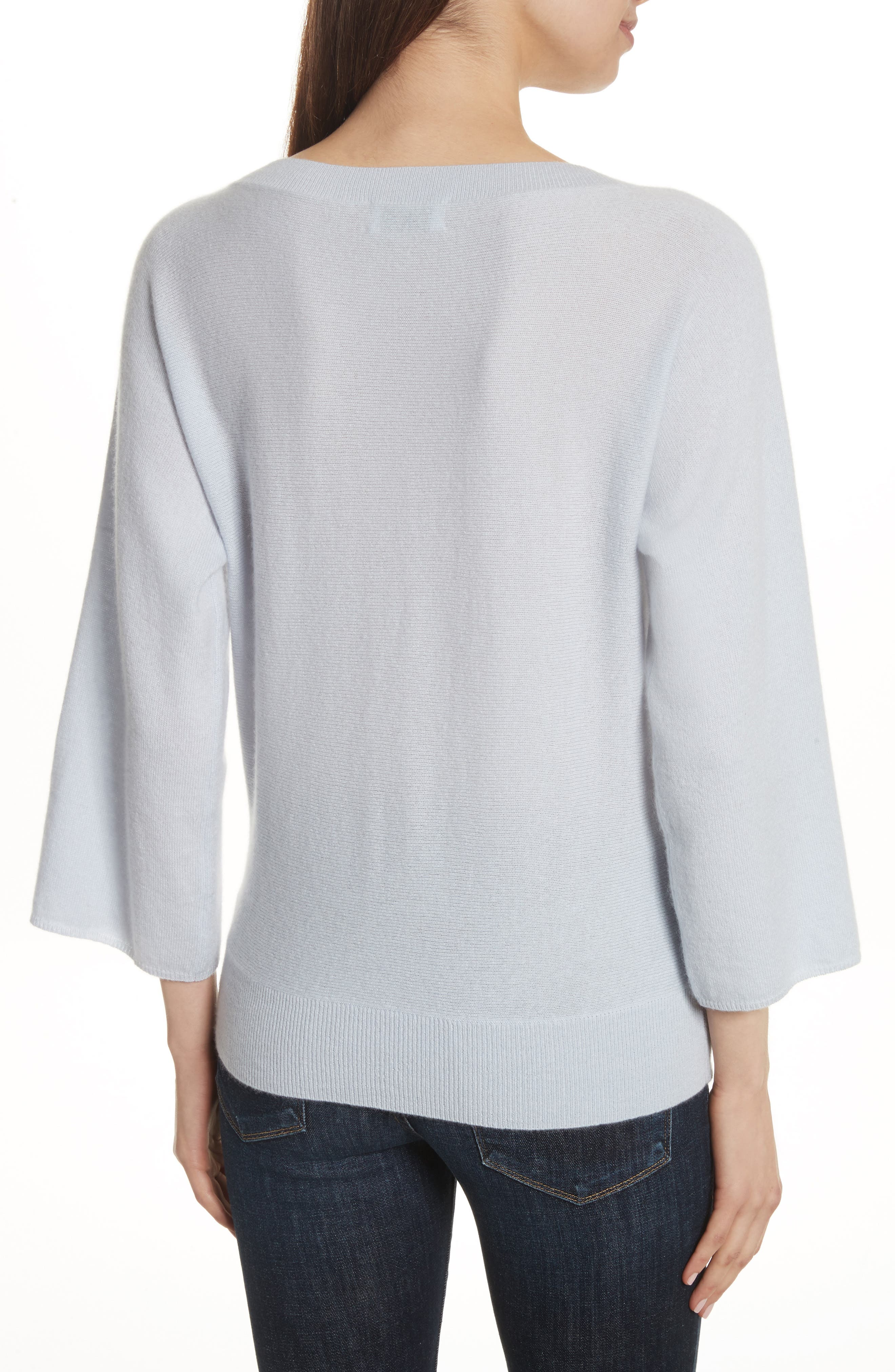 Alternate Image 2  - Allude Cashmere Sweater