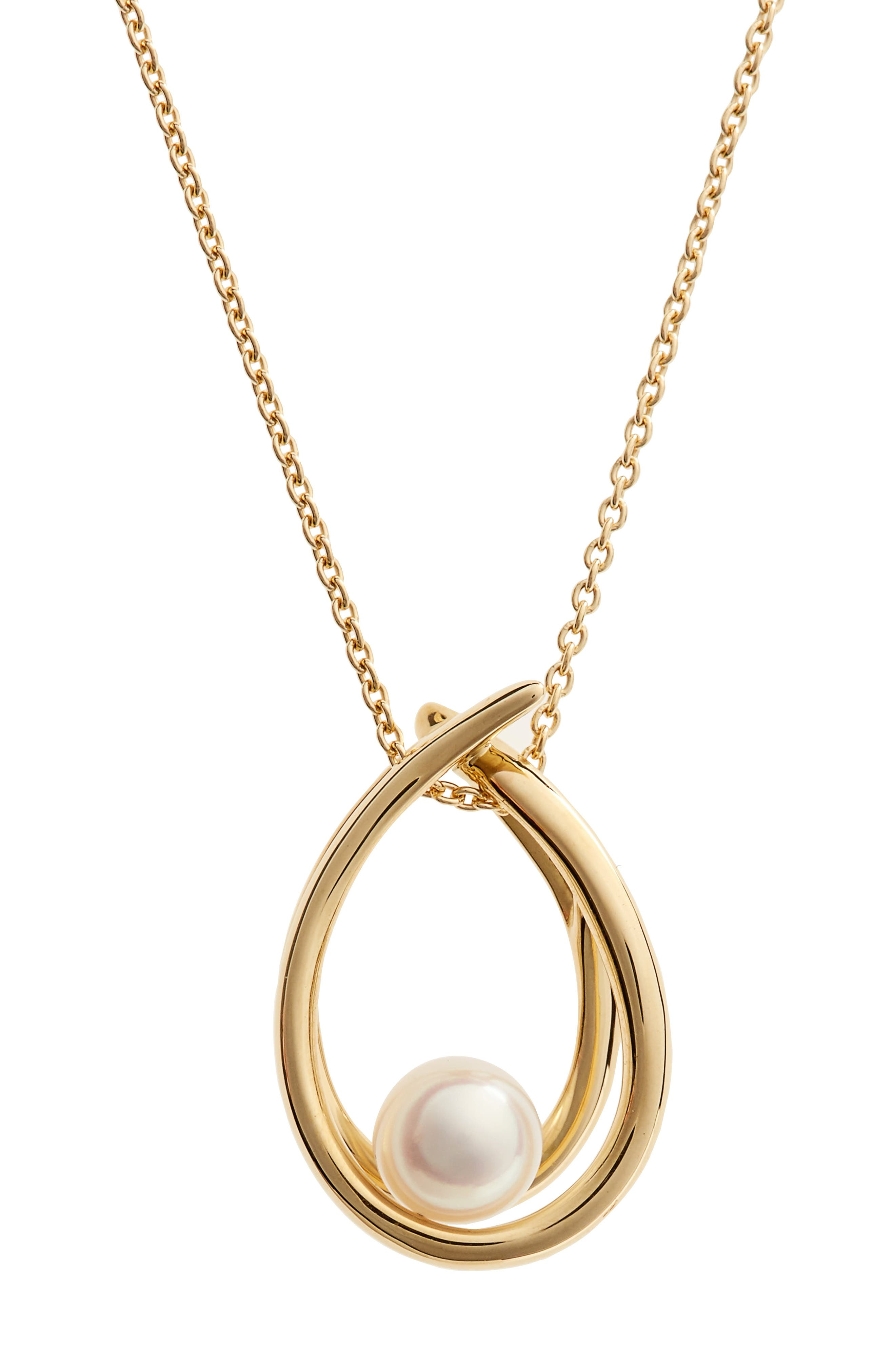 Mikimoto Akoya Pearl Pendant Necklace