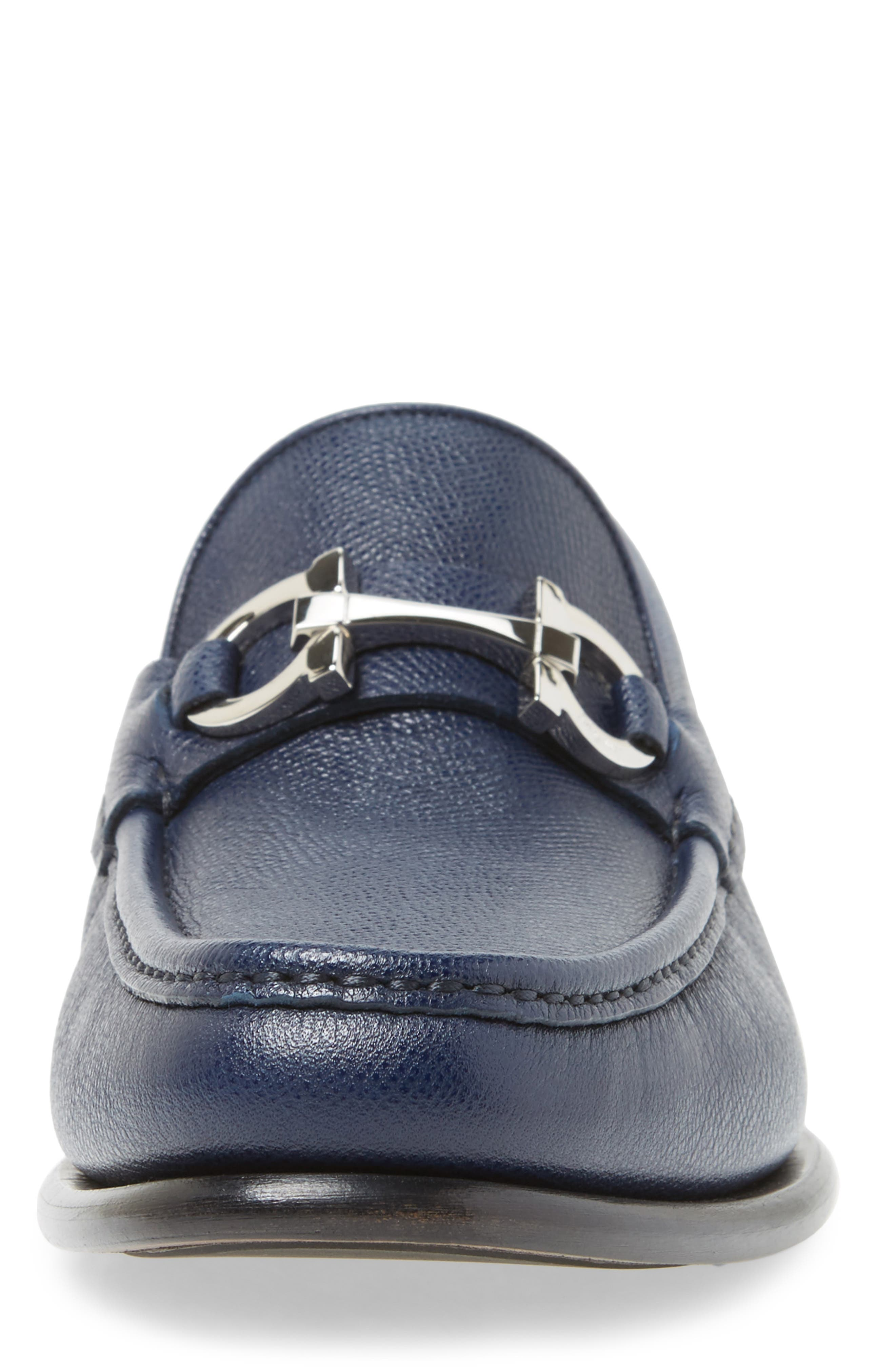 Alternate Image 4  - Salvatore Ferragamo Crown Bit Loafer (Men)