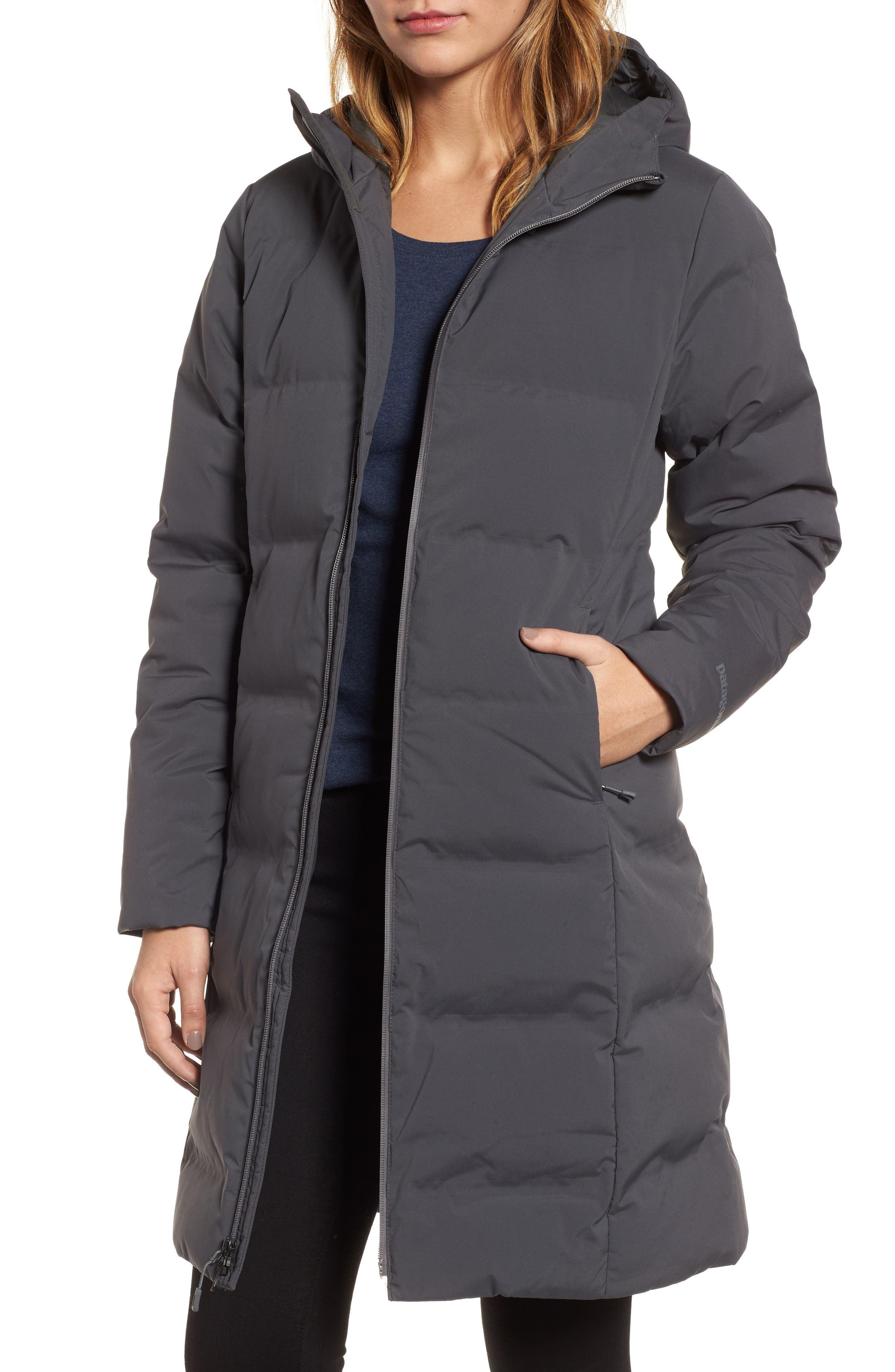 Patagonia parka with fur hood