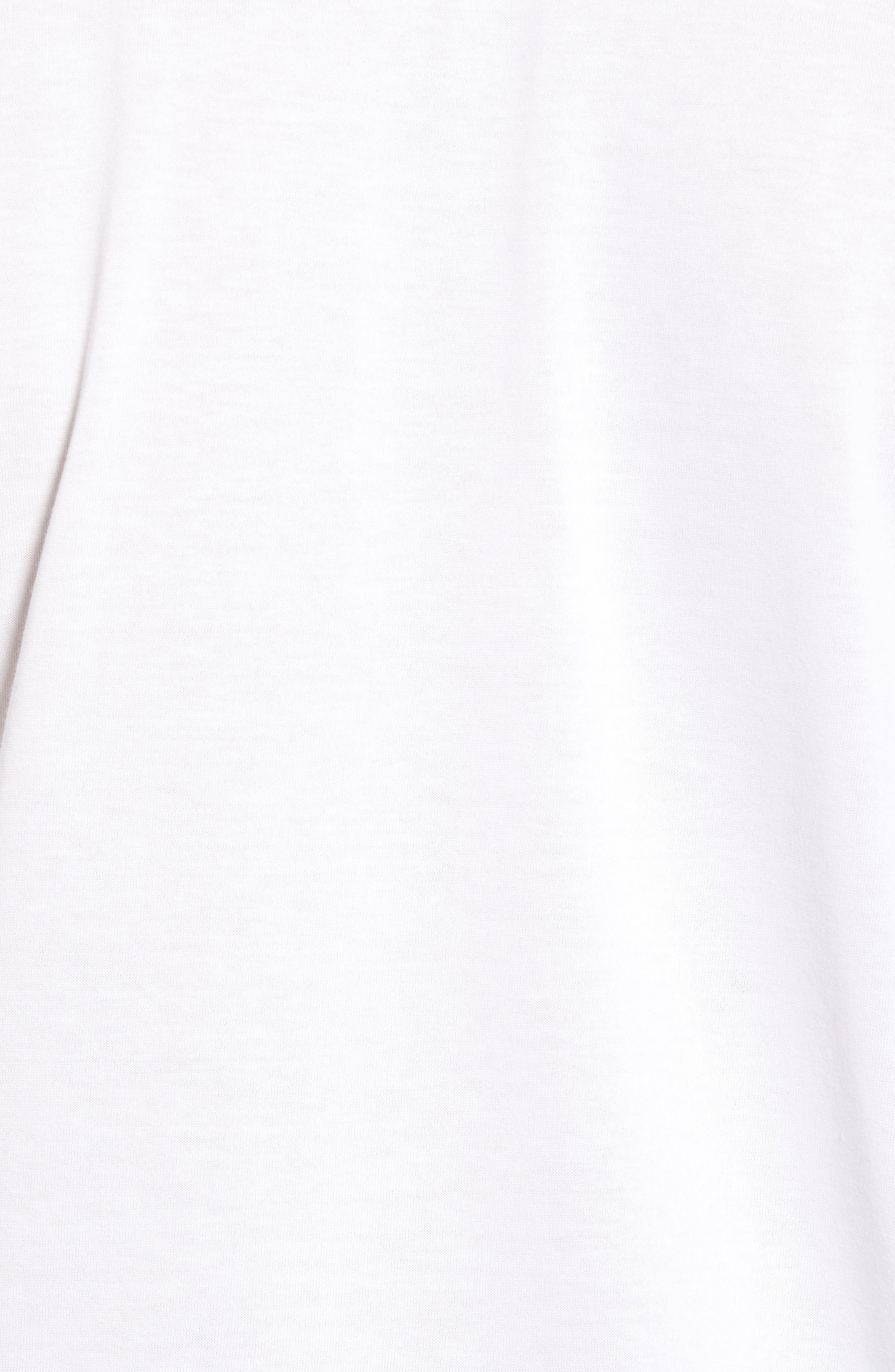 Tech Vertical Stripe Graphic T-Shirt,                             Alternate thumbnail 6, color,                             U88 White/ Ocean-Ladybird-Blac