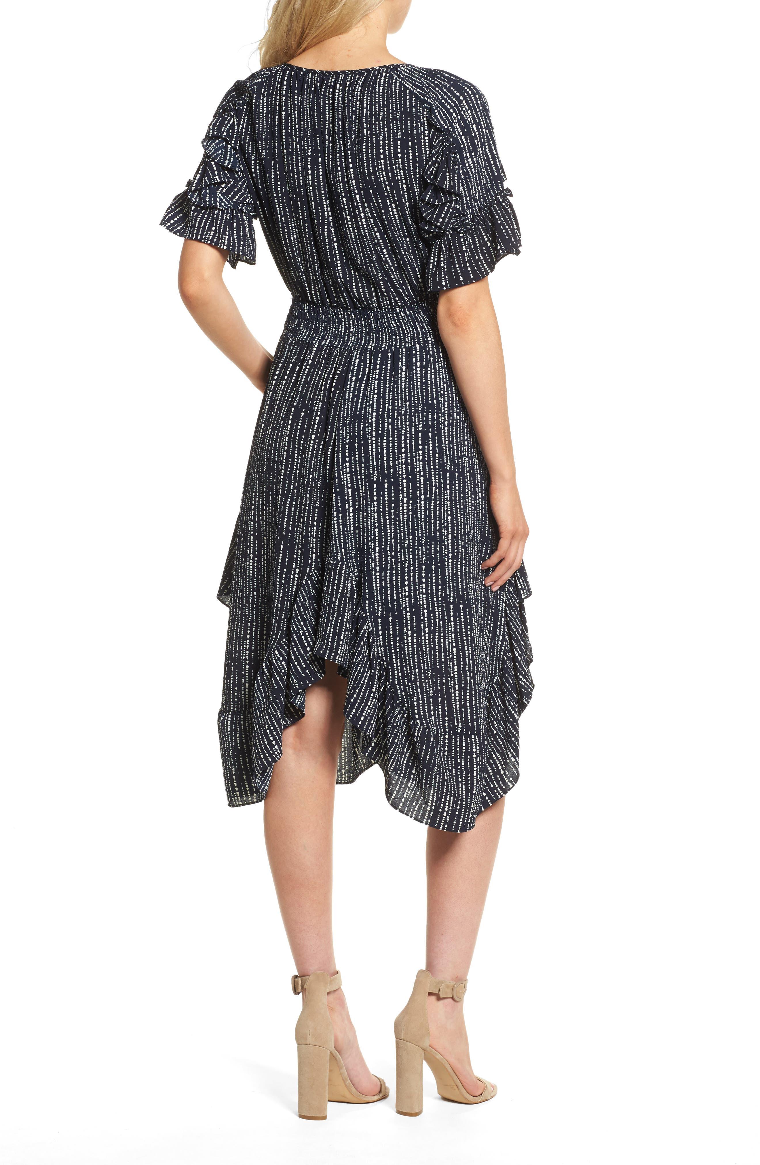 Alternate Image 2  - MISA Los Angeles Patricia High/Low Dress