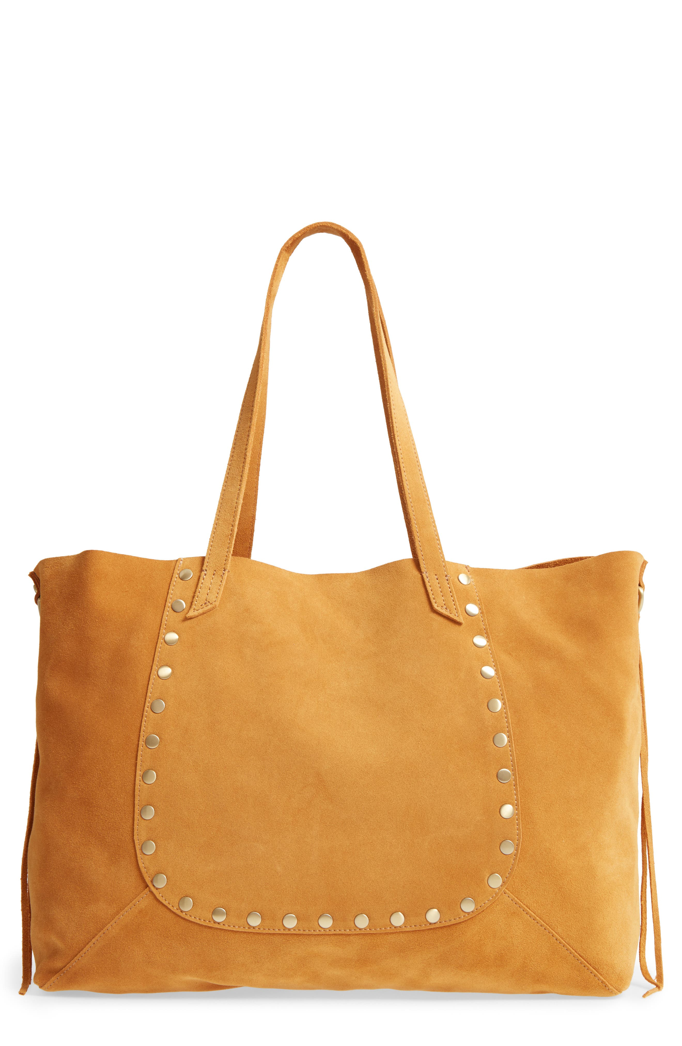 Hobo Journey Studded Suede Tote