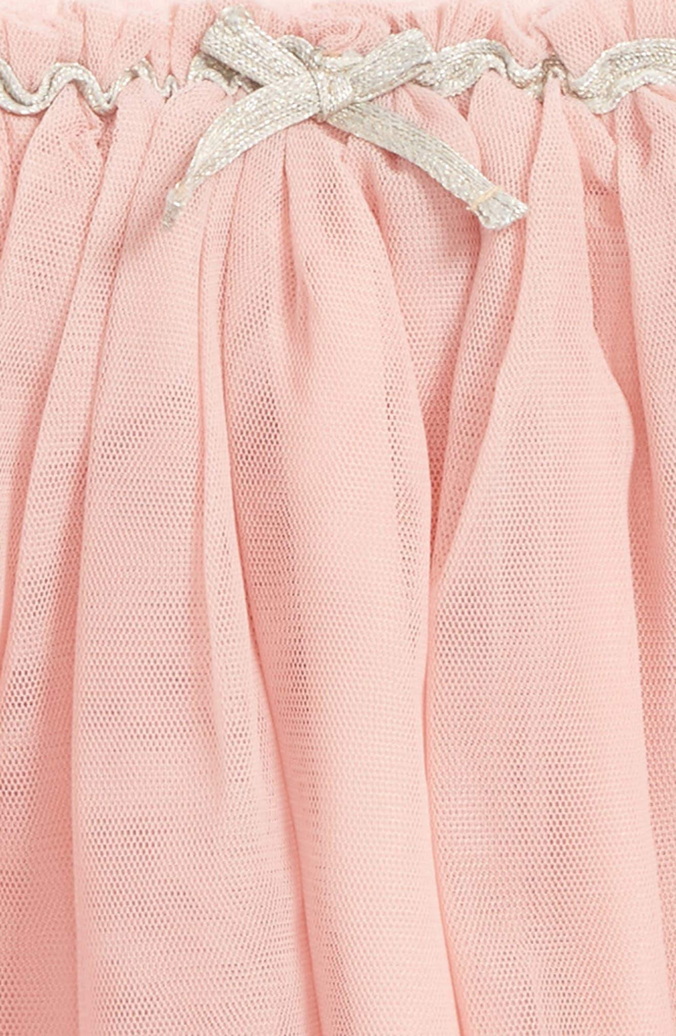 Tutu Leggings,                             Alternate thumbnail 2, color,                             Pink Silver