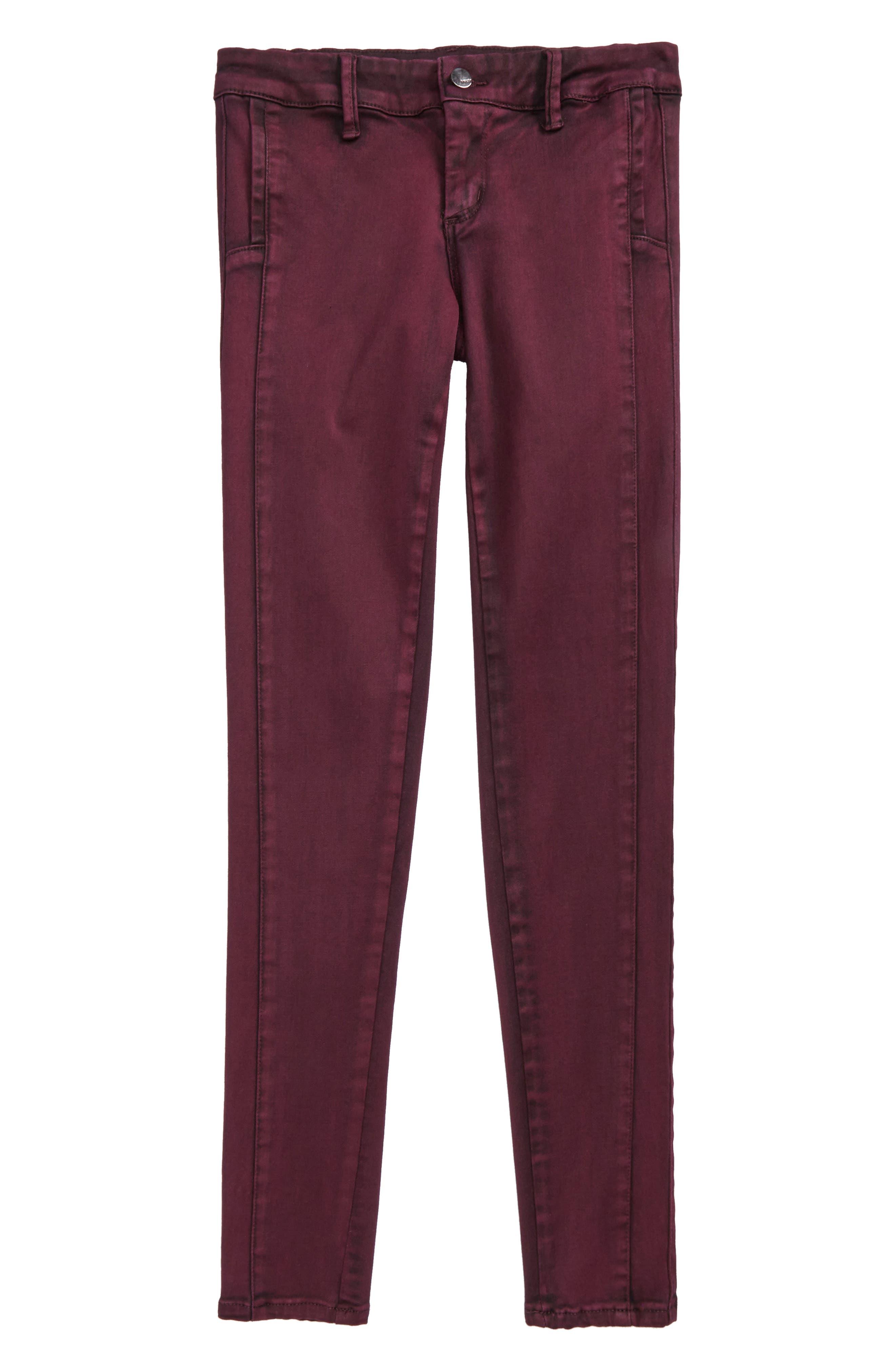 Tractr Overdye Skinny Jeans (Big Girls)