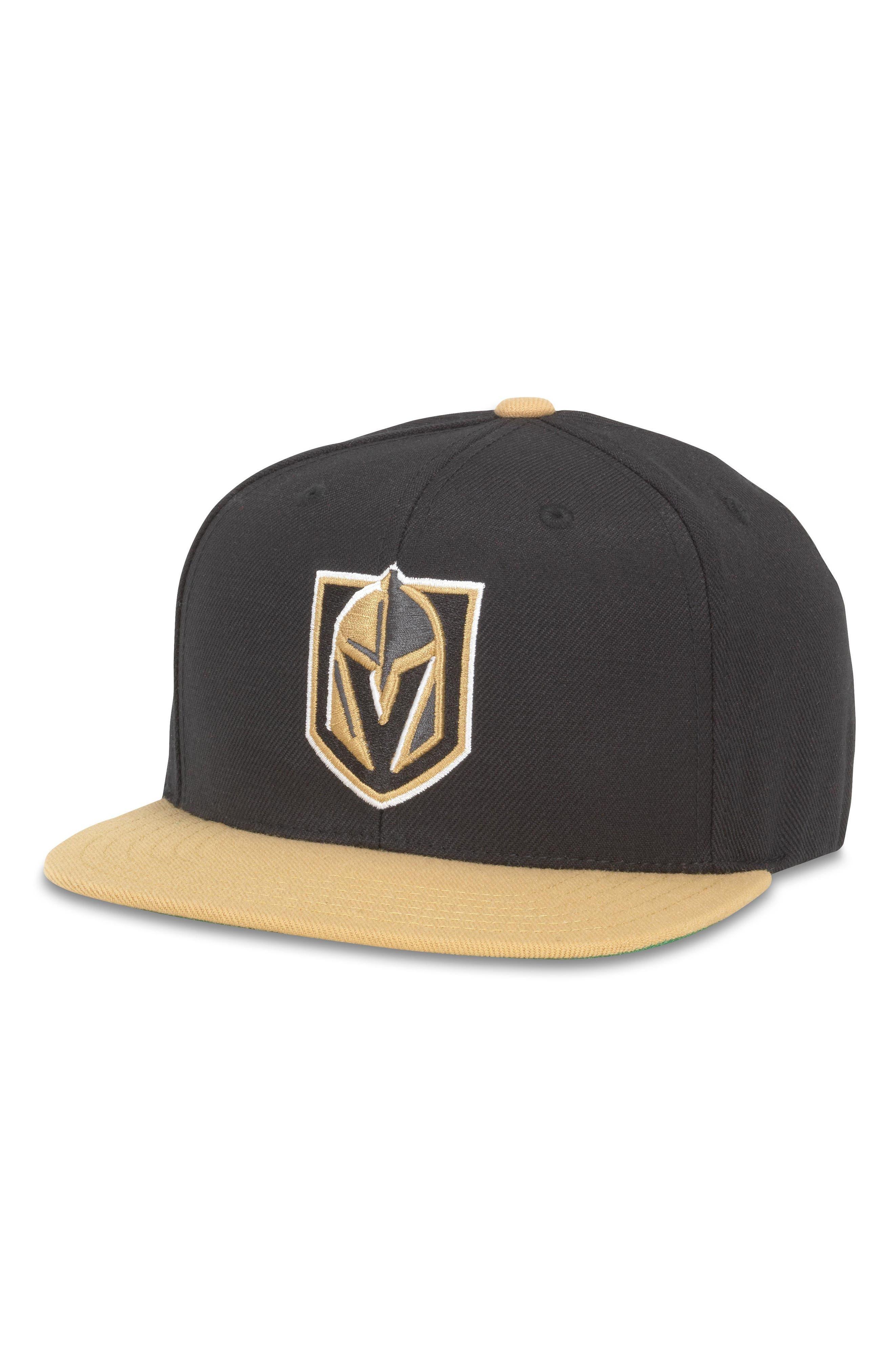400 Series NHL Cap,                         Main,                         color, Vegas Knights/ Black/ Gold