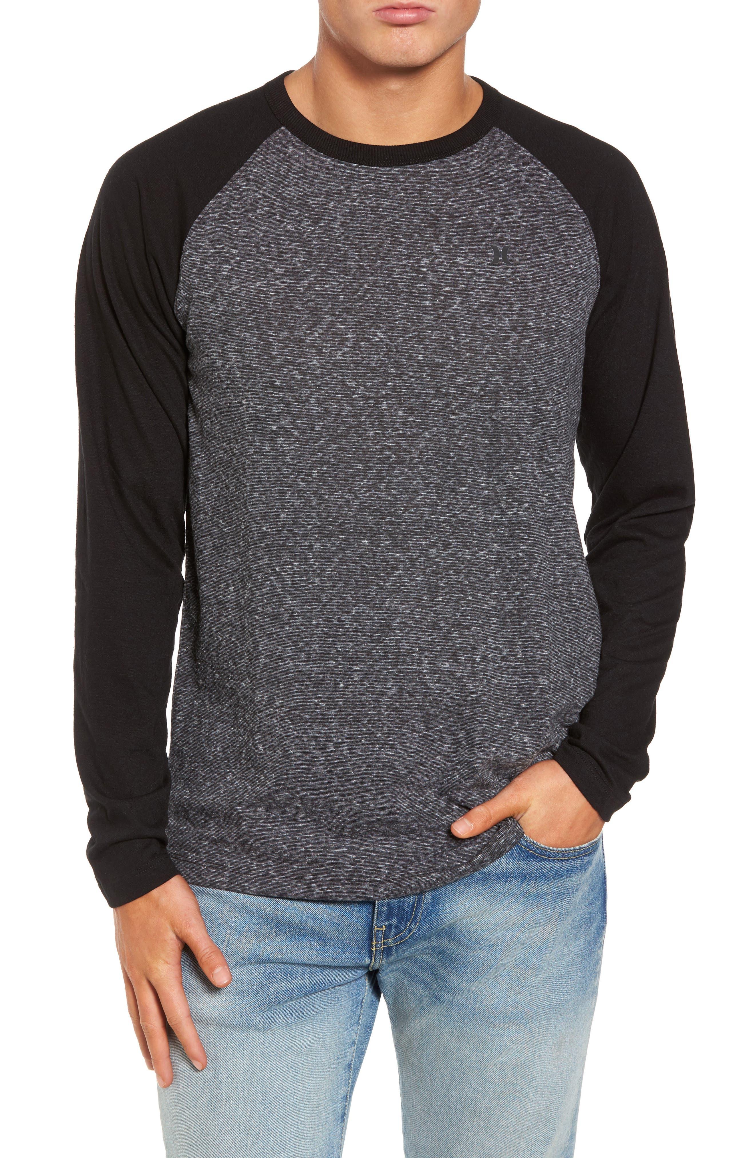 Hurley Still Raglan Sleeve T-Shirt