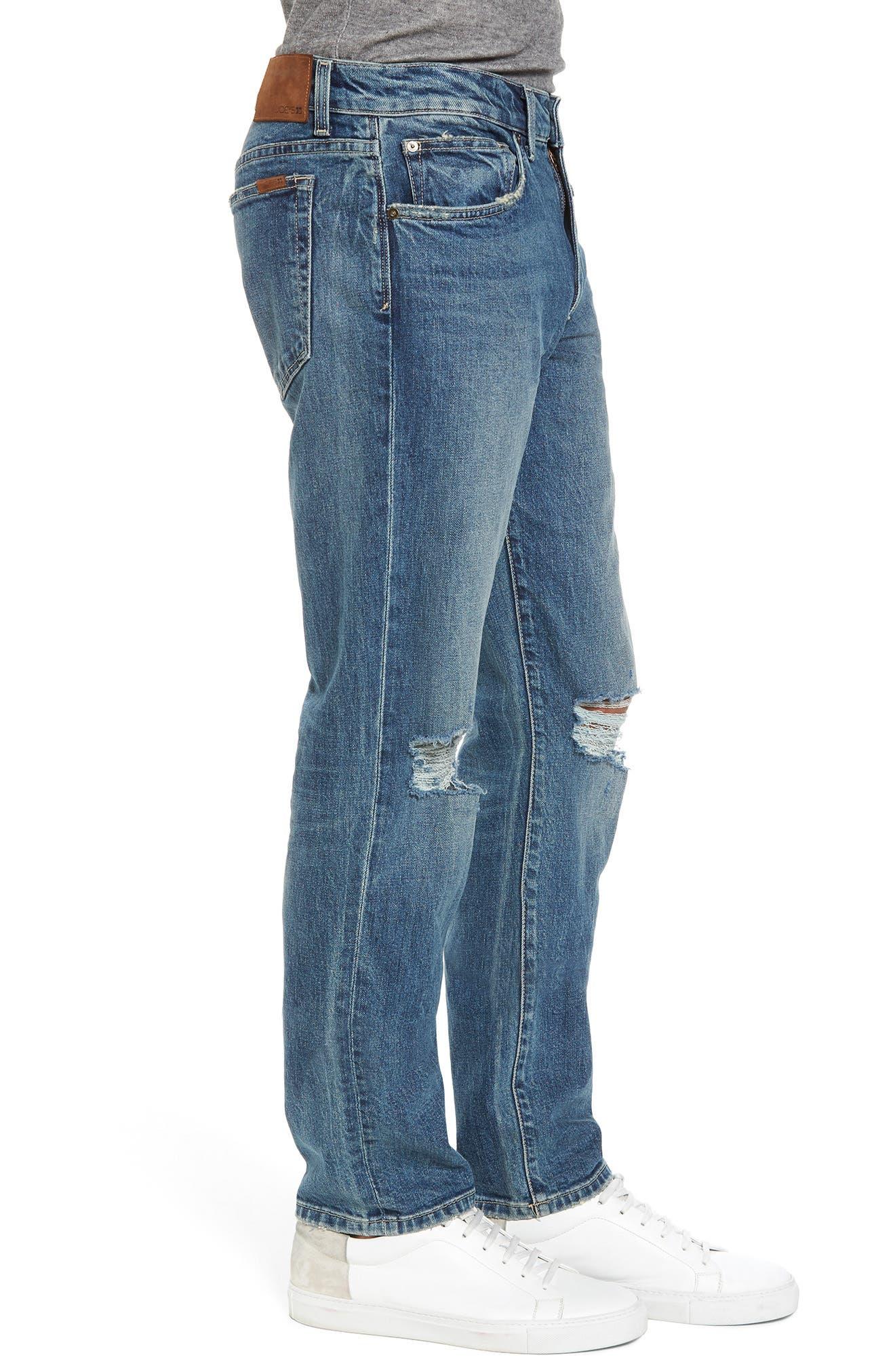 Slim Fit Jeans,                             Alternate thumbnail 3, color,                             Olson