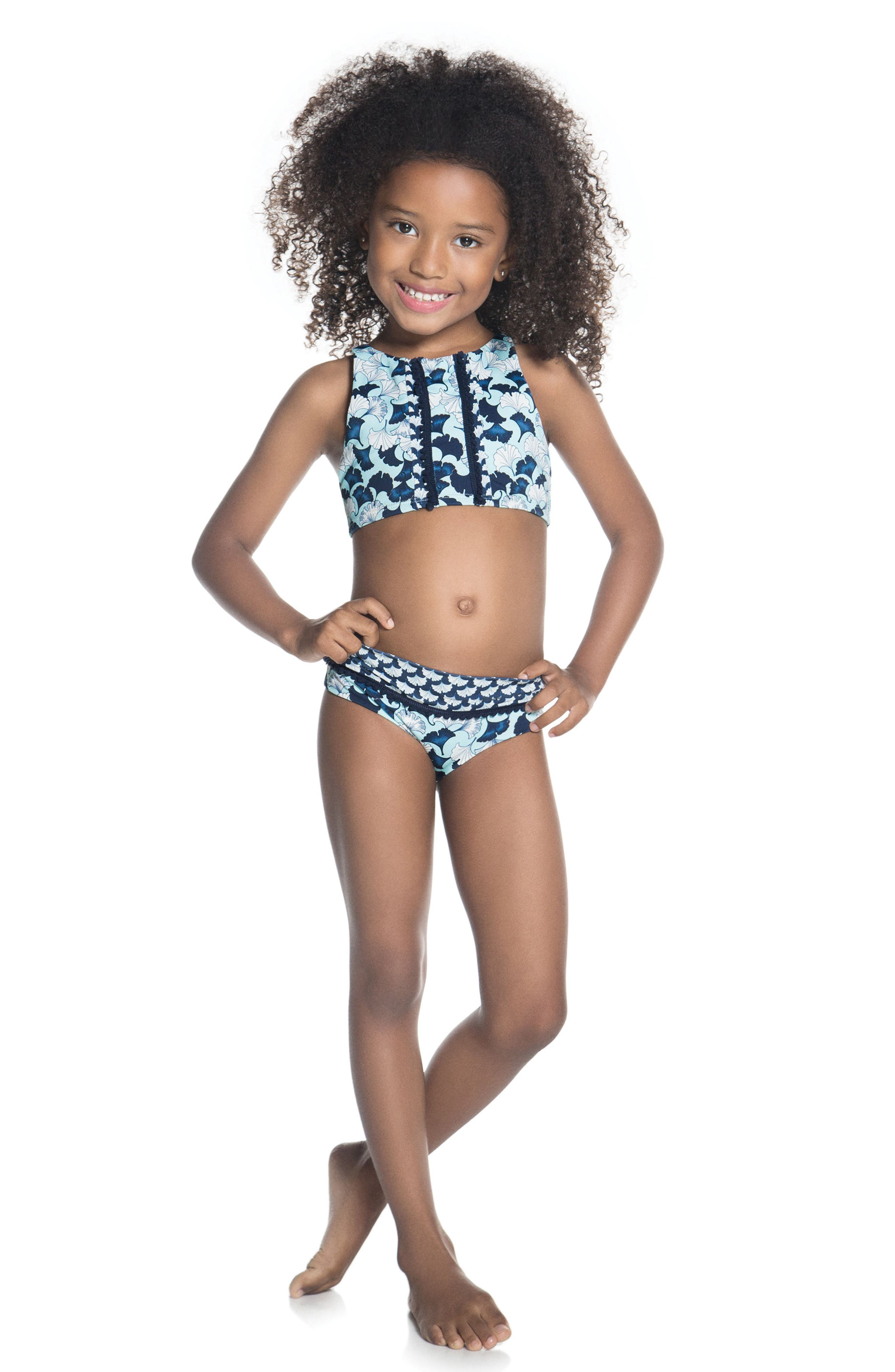 Lotto Two-Piece Swimsuit,                             Alternate thumbnail 3, color,                             Lotto